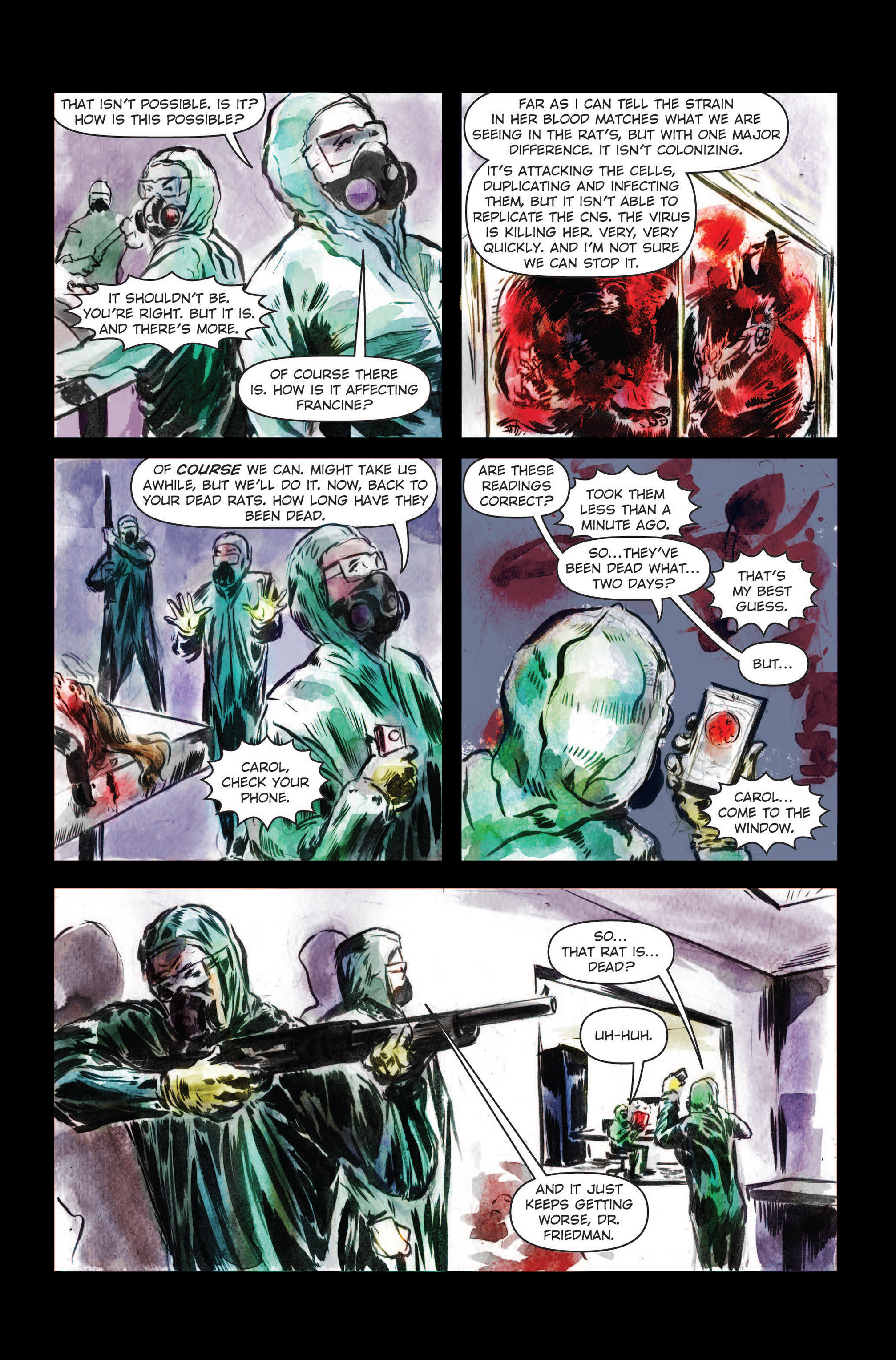 Read online The Final Plague comic -  Issue #3 - 24
