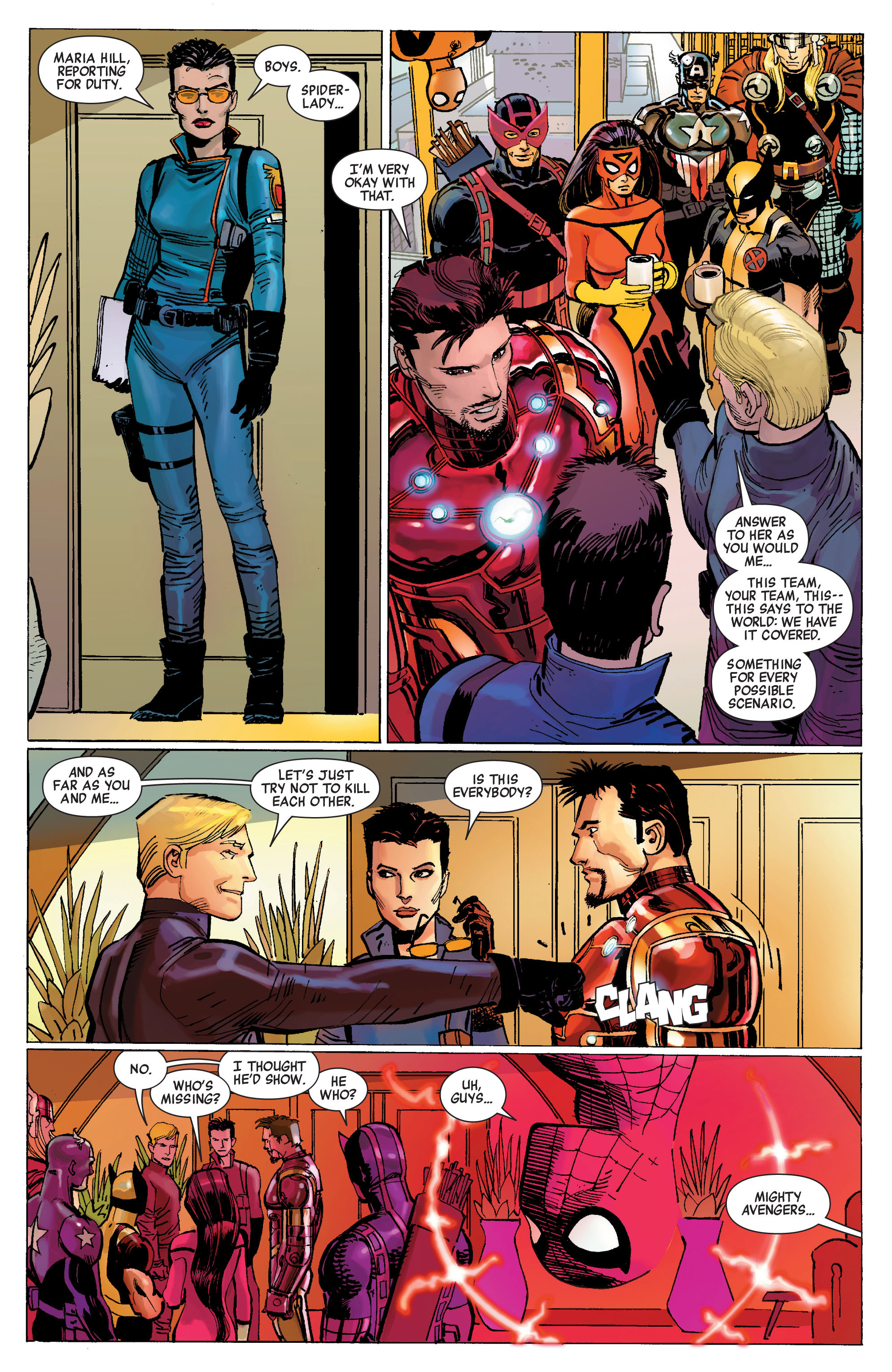 Read online Avengers (2010) comic -  Issue #1 - 10