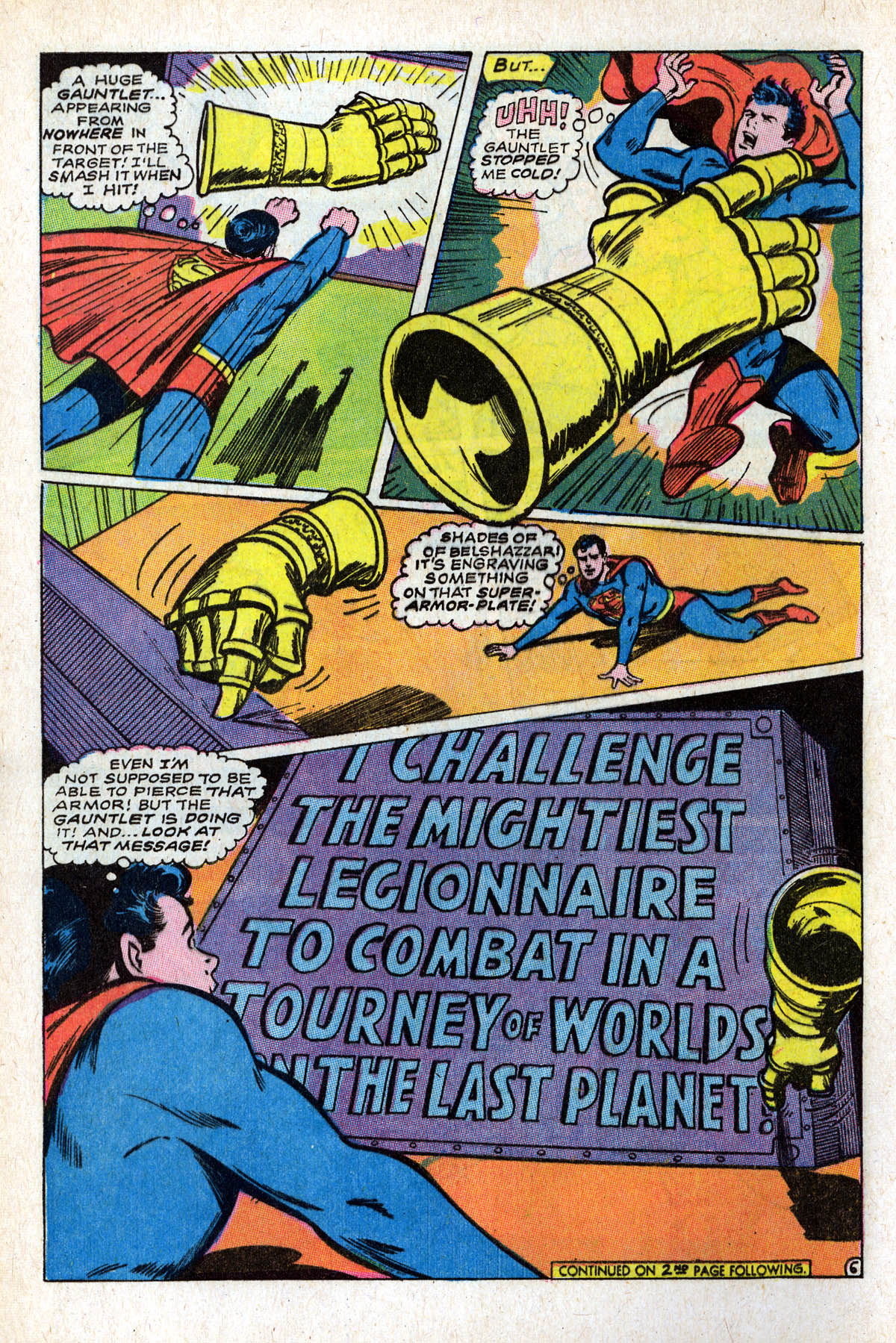 Read online Adventure Comics (1938) comic -  Issue #375 - 8