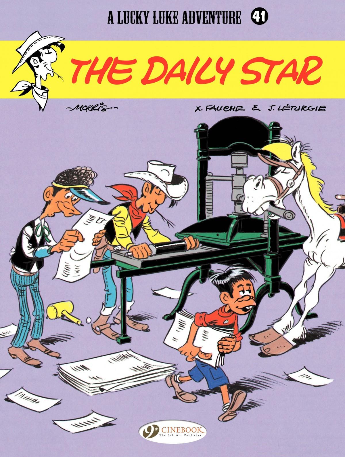 Read online A Lucky Luke Adventure comic -  Issue #41 - 1