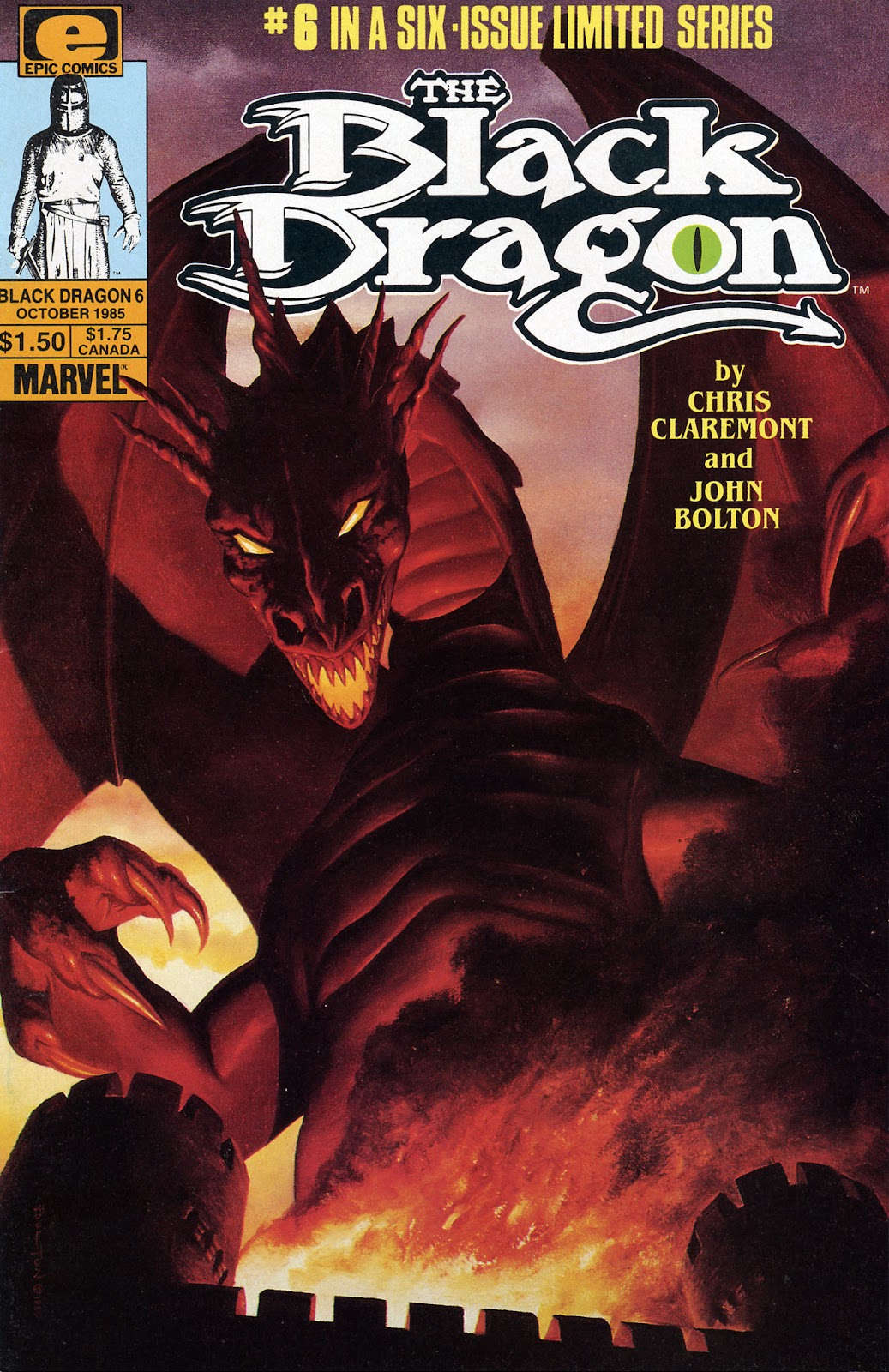 The Black Dragon (1985) 6 Page 1