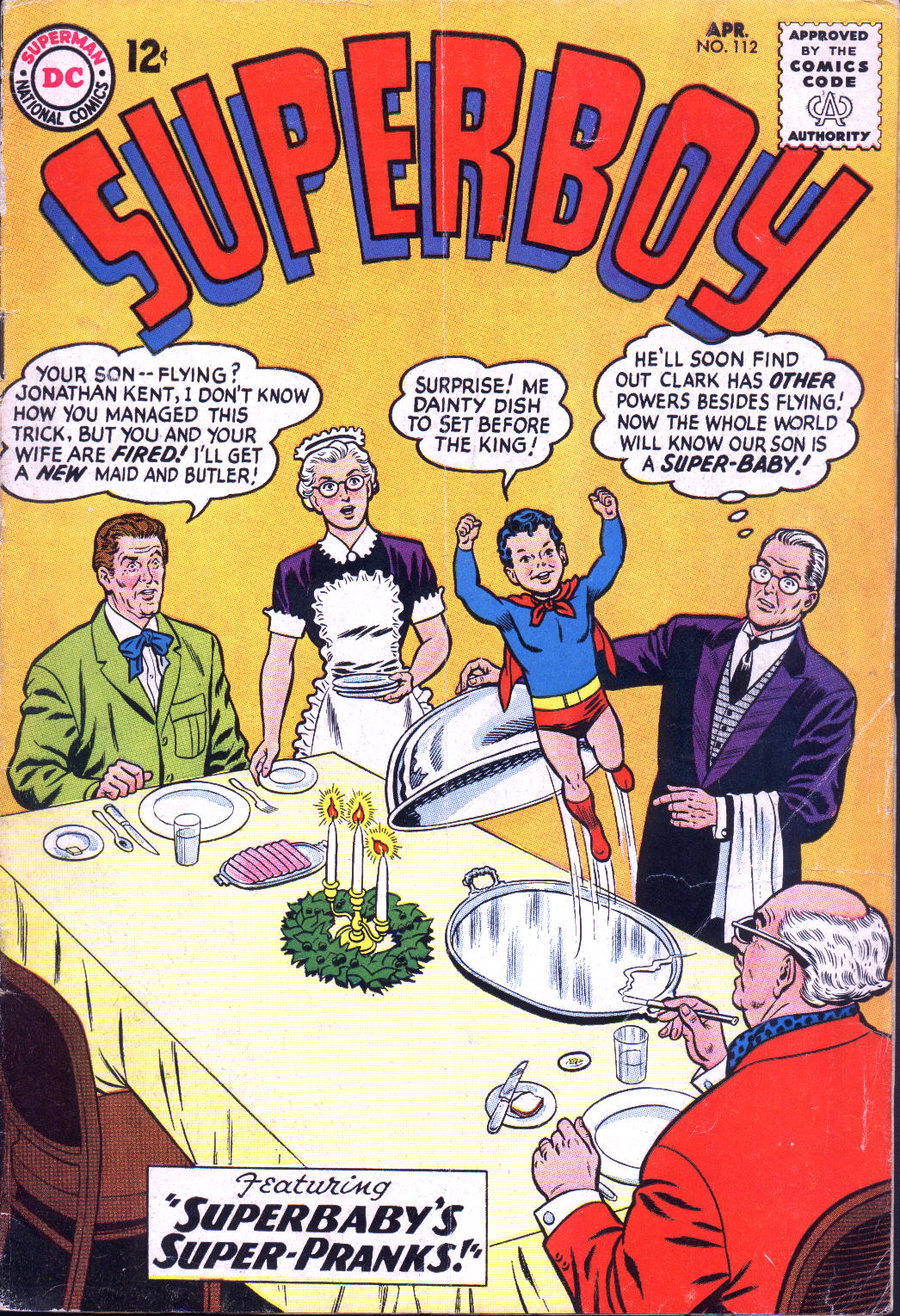 Superboy (1949) issue 112 - Page 1