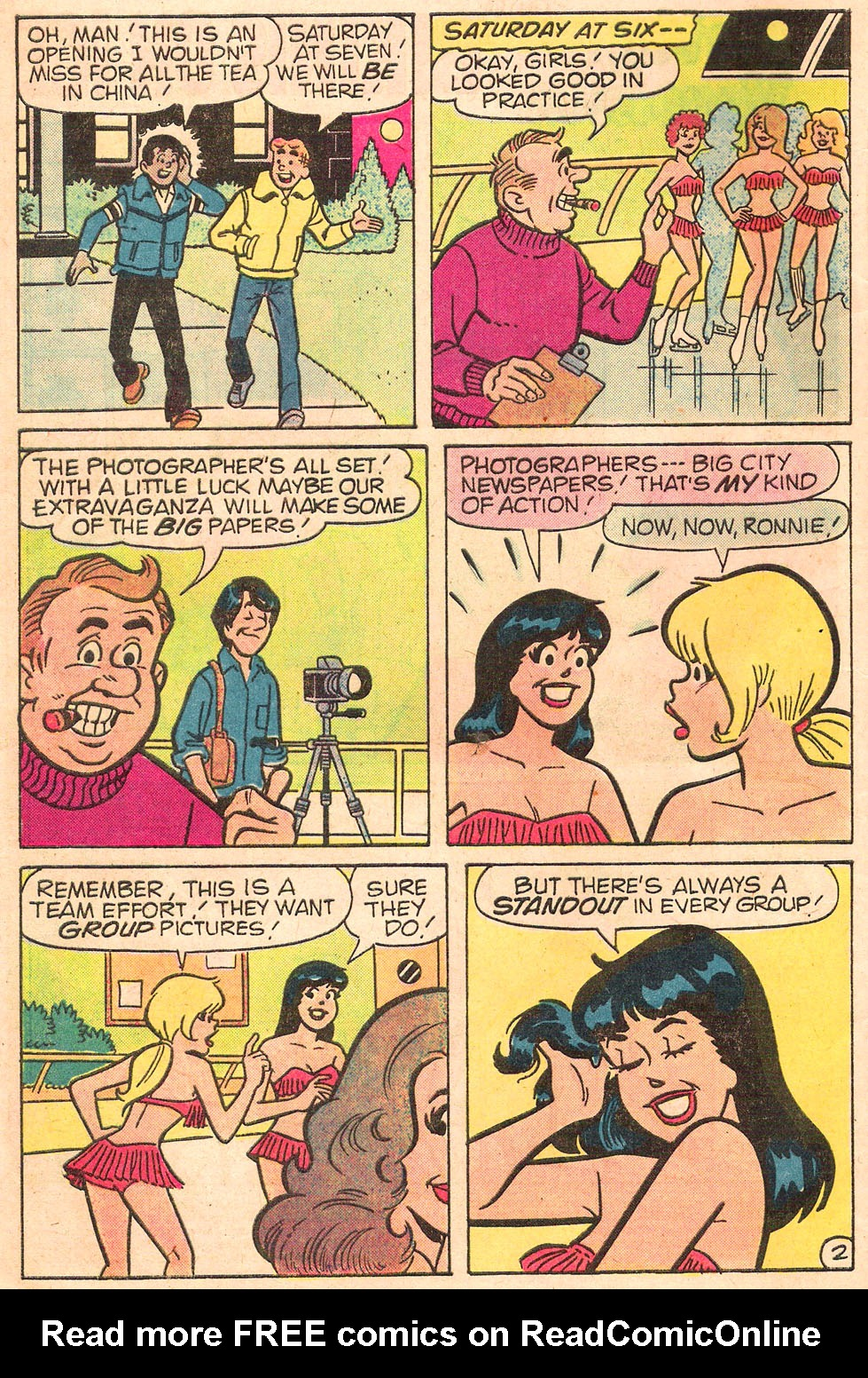 Read online Archie's Girls Betty and Veronica comic -  Issue #314 - 4