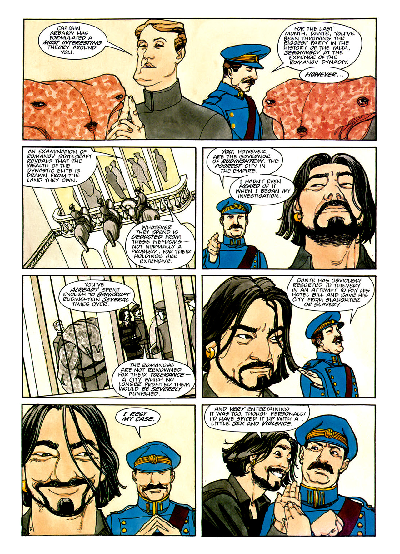 Read online Nikolai Dante comic -  Issue # TPB 1 - 113
