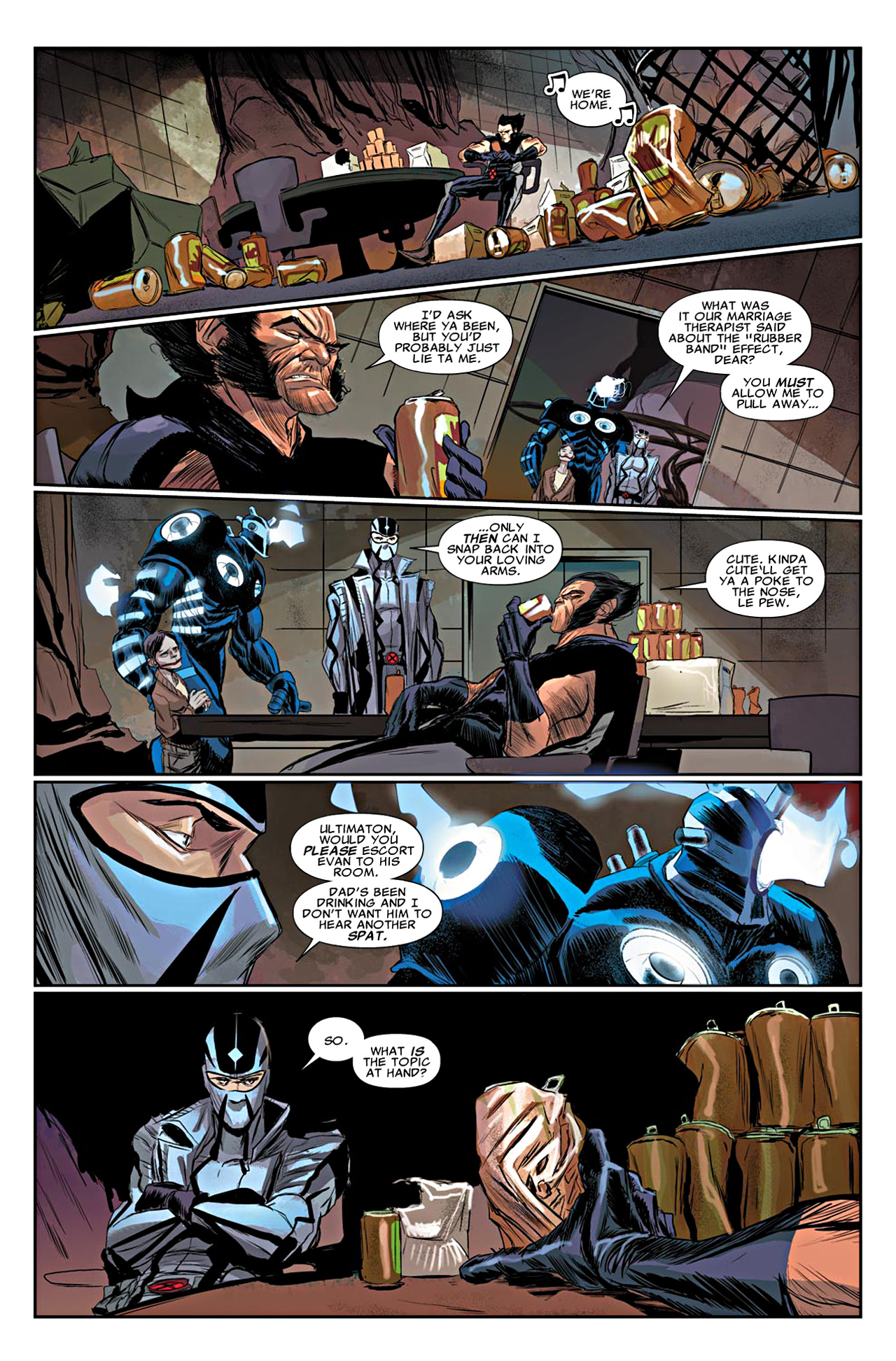 Read online Uncanny X-Force (2010) comic -  Issue #19 - 14