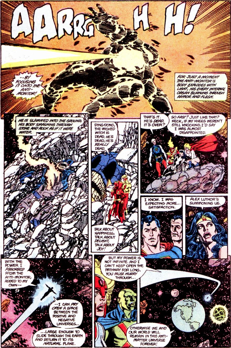 Crisis on Infinite Earths (1985) 12 Page 27