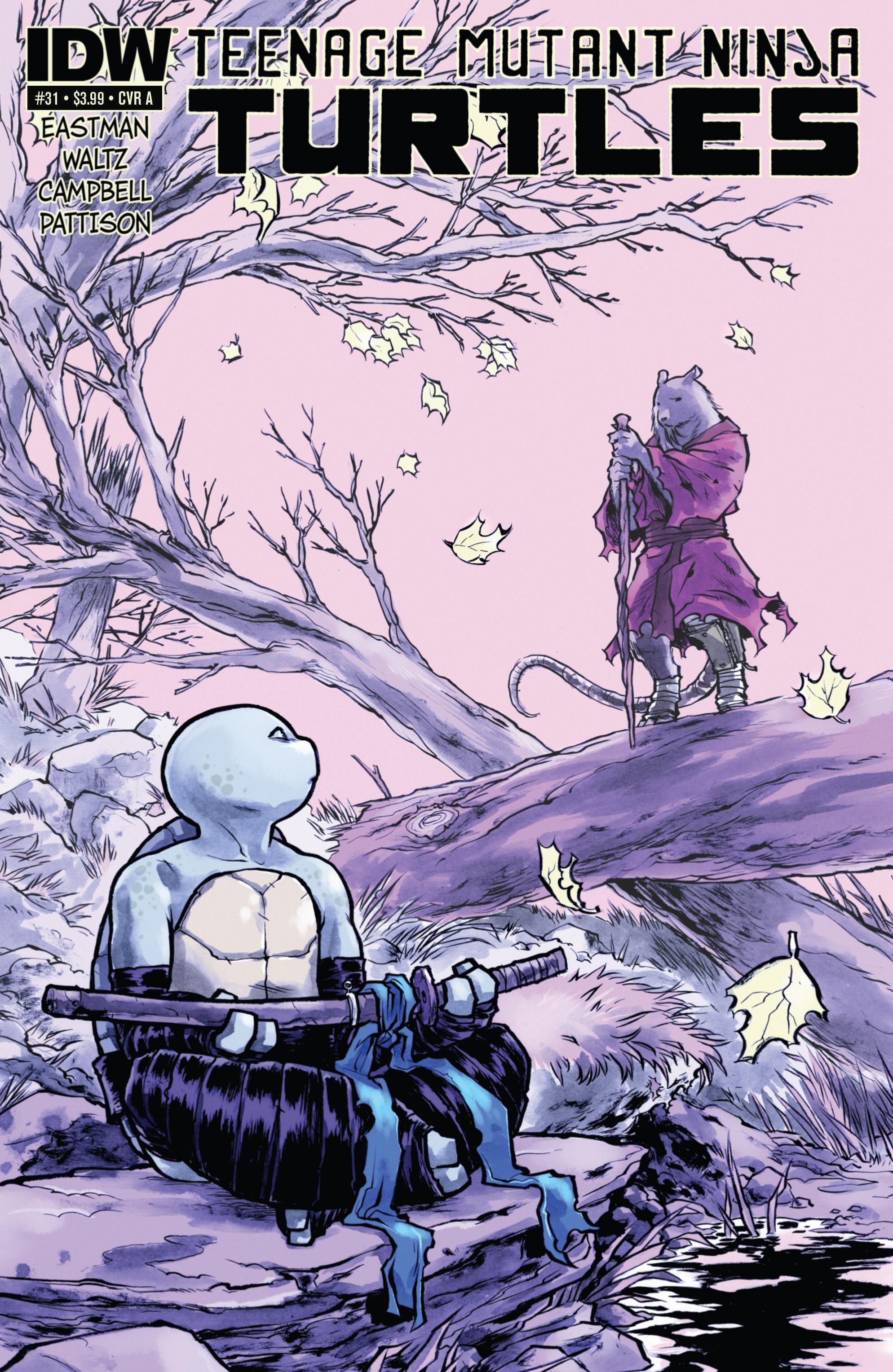 Teenage Mutant Ninja Turtles (2011) 31 Page 1