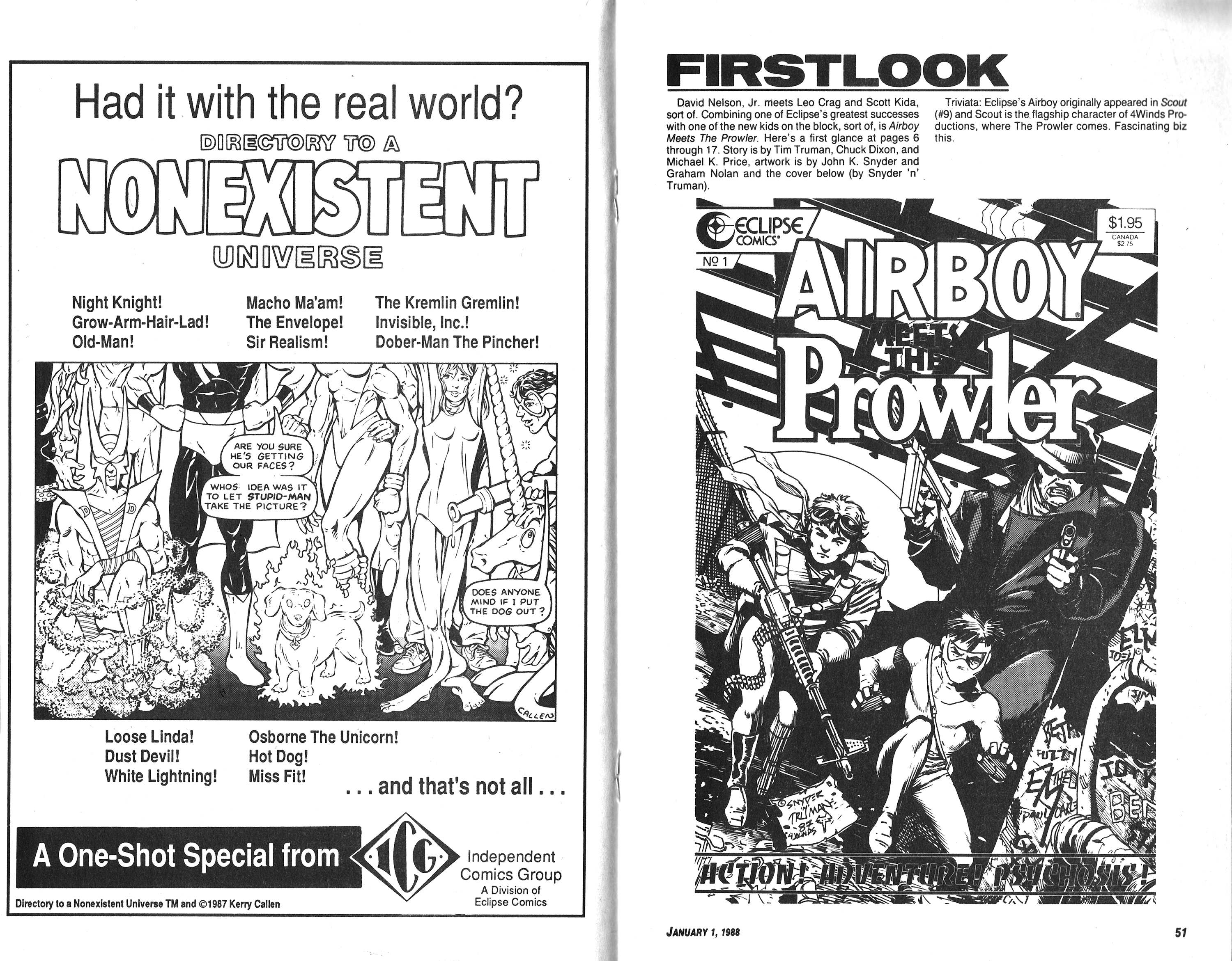 Read online Amazing Heroes comic -  Issue #132 - 26