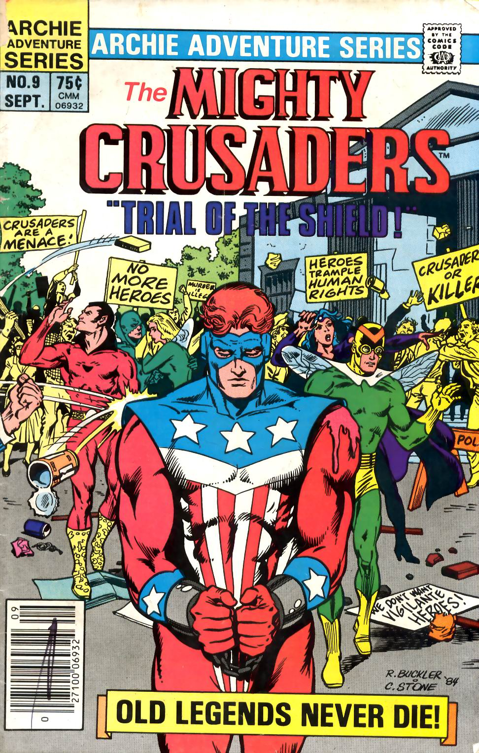 The All New Adventures of the Mighty Crusaders 9 Page 1