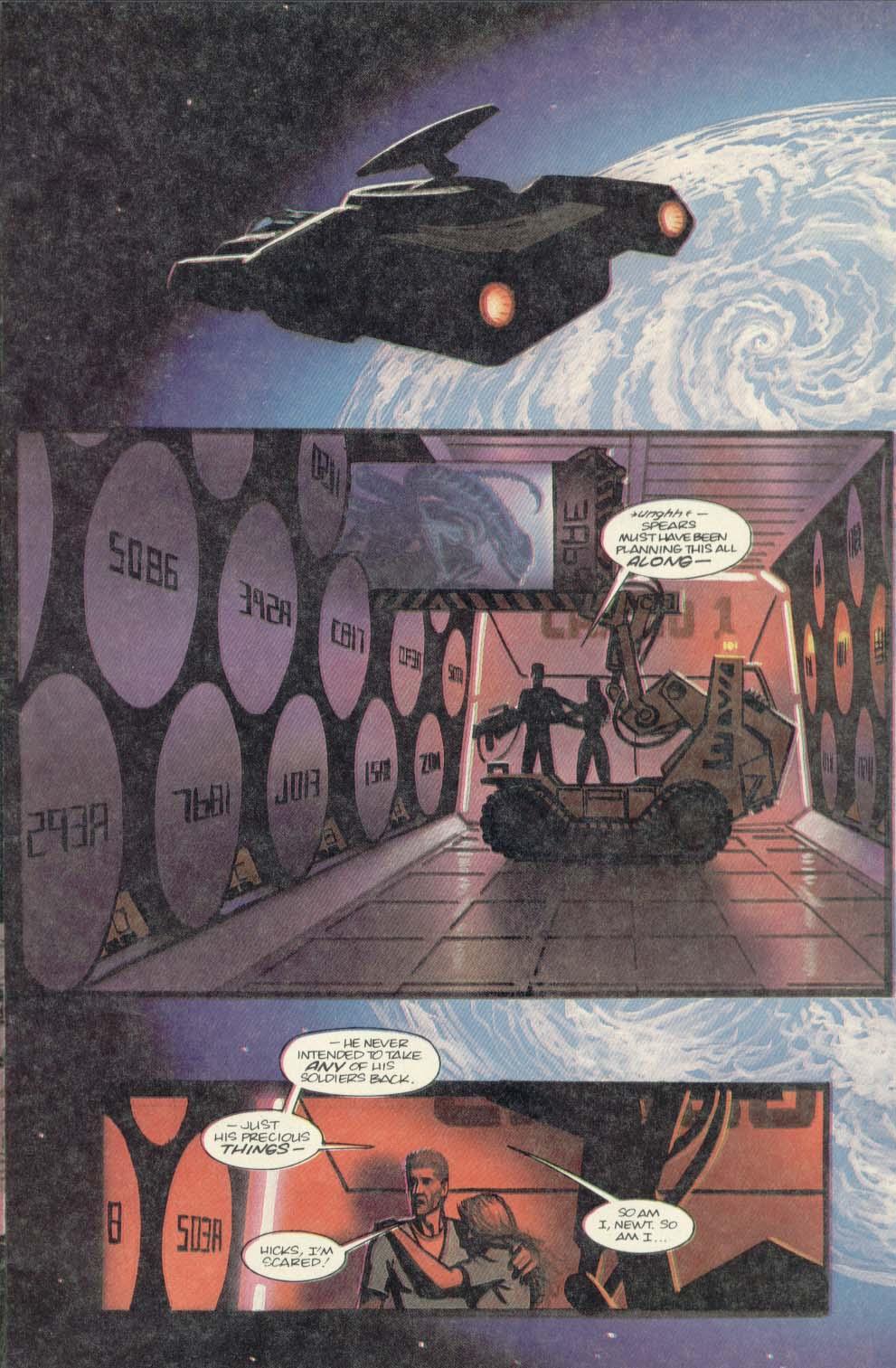 Read online Aliens (1989) comic -  Issue #4 - 13