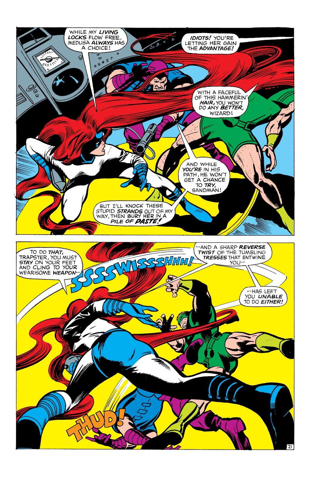Read online Marvel Masterworks: The Inhumans comic -  Issue # TPB 1 (Part 1) - 64