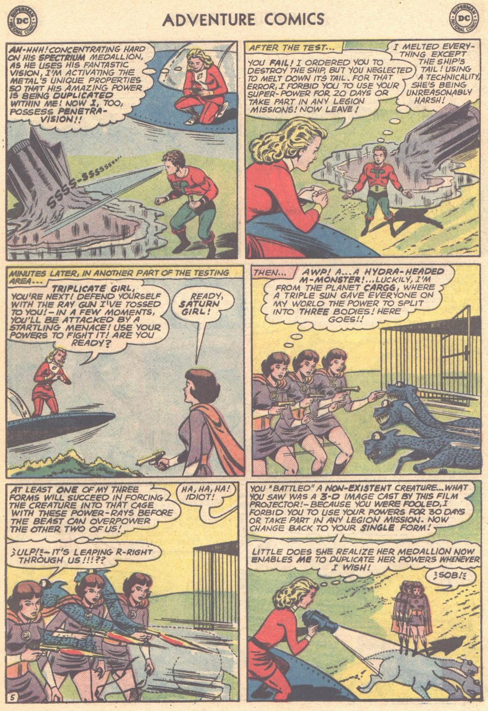 Read online Adventure Comics (1938) comic -  Issue #304 - 25