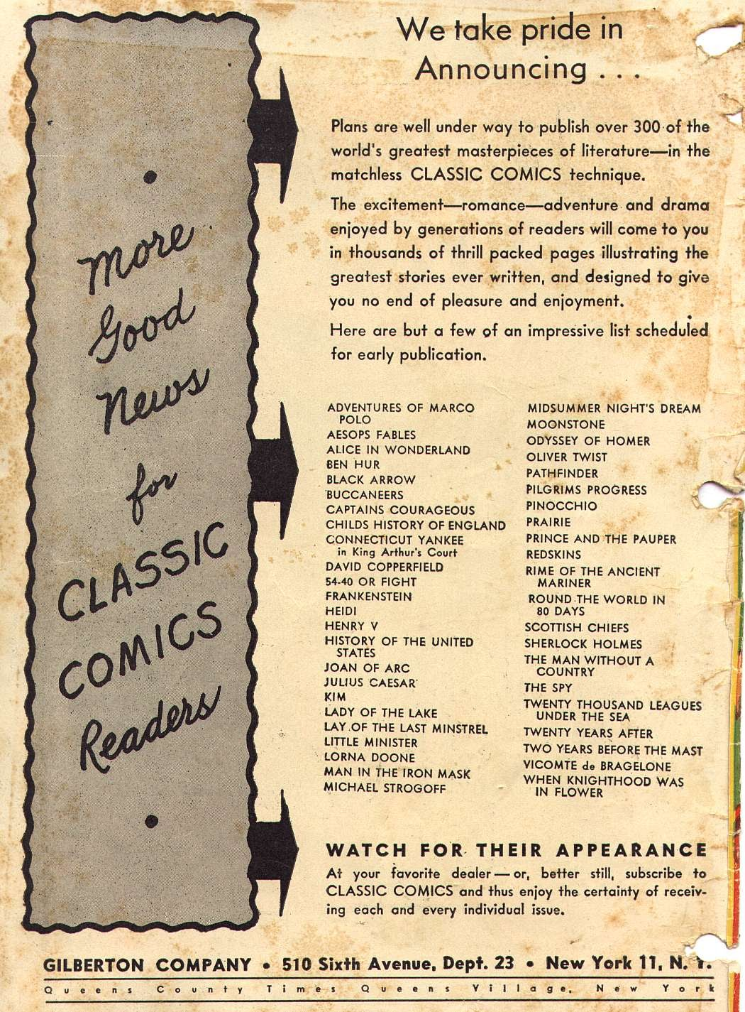 Classics Illustrated issue 18 - Page 7