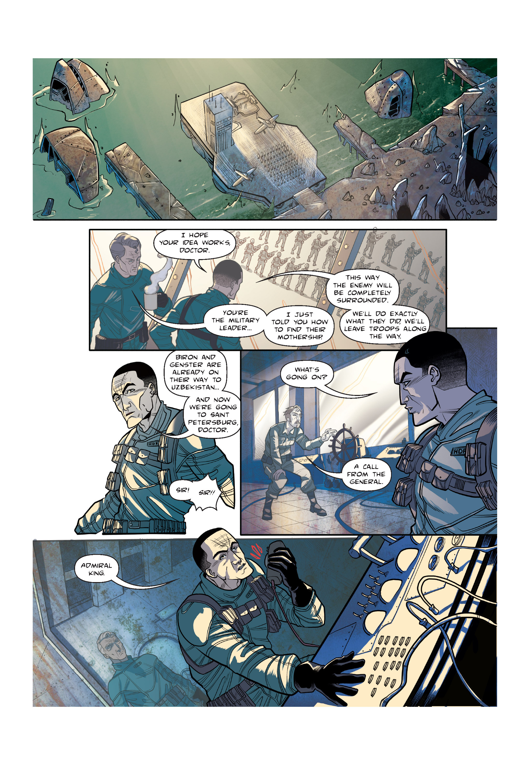 Read online The Shadow of a Terrible Thing comic -  Issue # TPB - 96