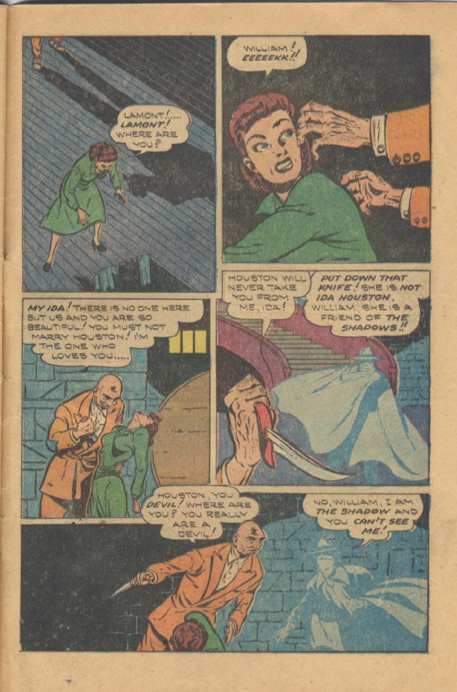Read online Shadow Comics comic -  Issue #95 - 47
