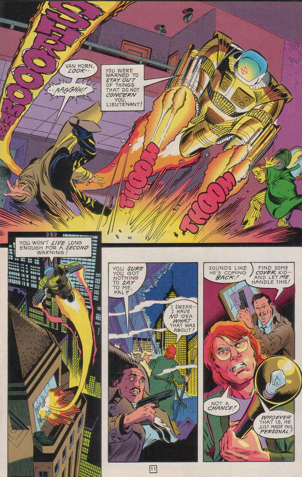Read online Gunfire comic -  Issue #4 - 15