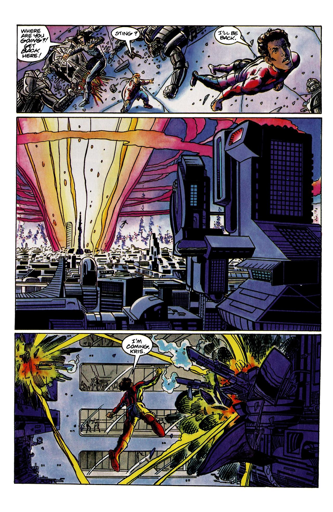 Read online Harbinger (1992) comic -  Issue #9 - 20