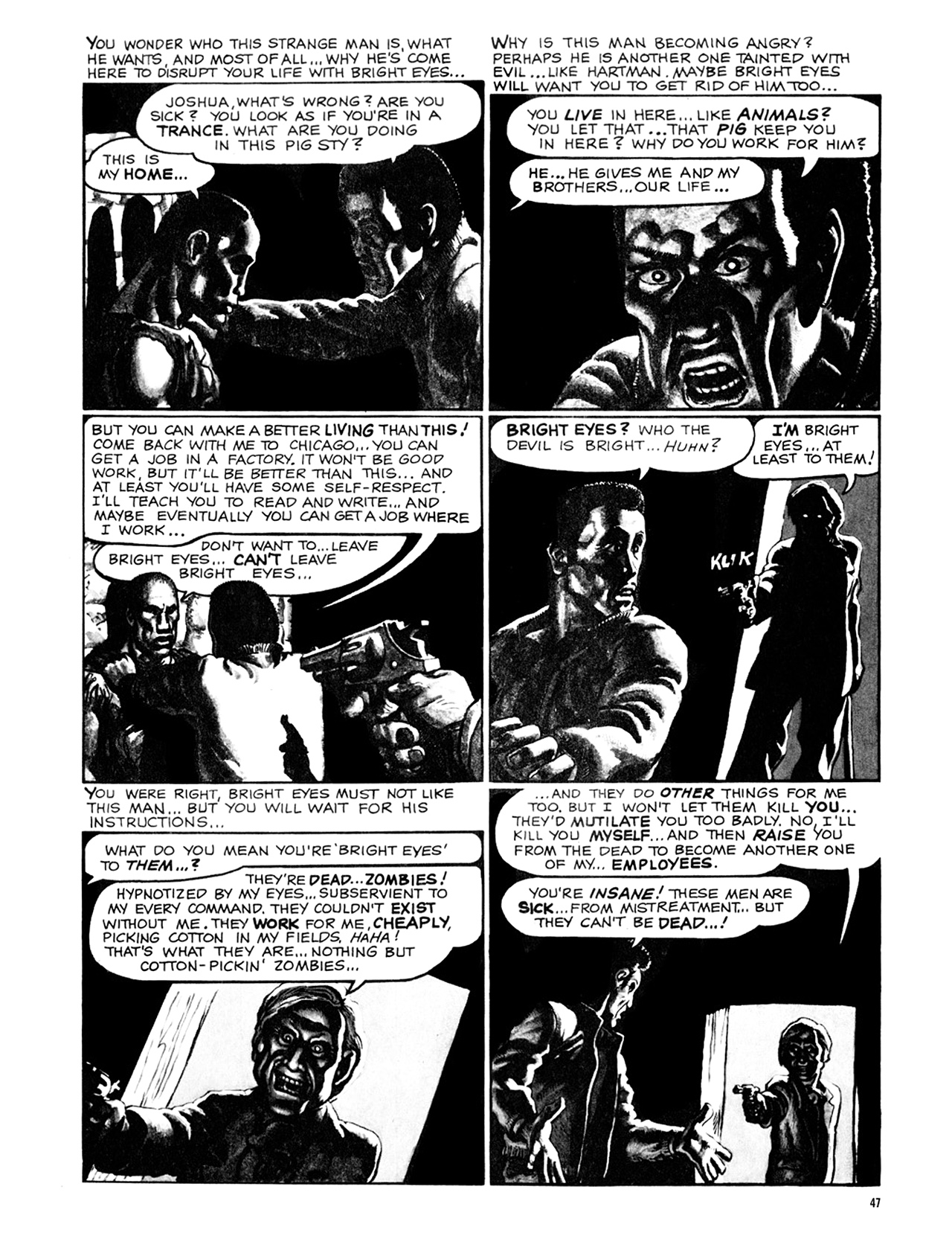 Read online Eerie Archives comic -  Issue # TPB 9 - 48