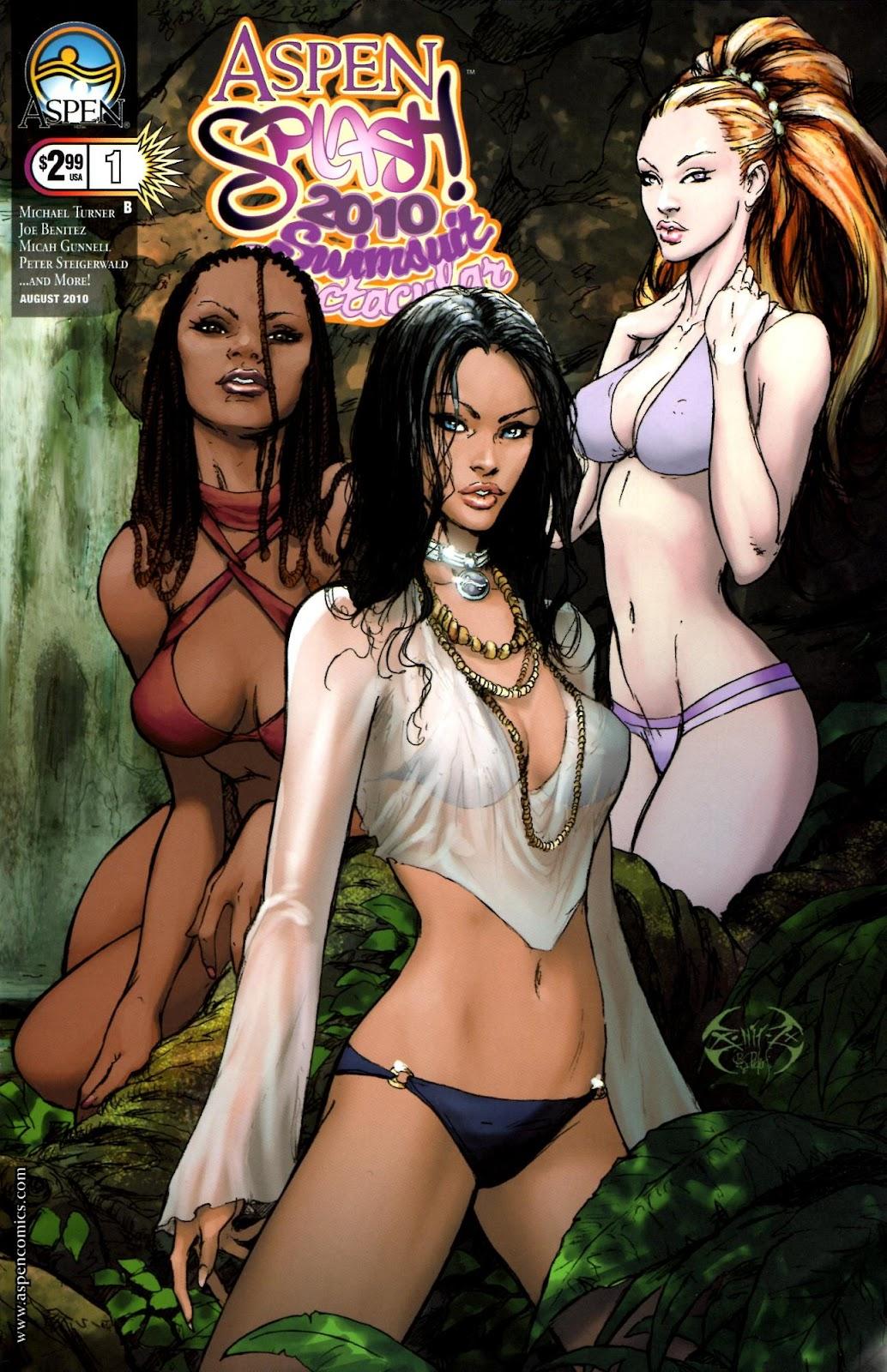 Read online Aspen Splash: Swimsuit Spectacular comic -  Issue # Issue 2010 - 1