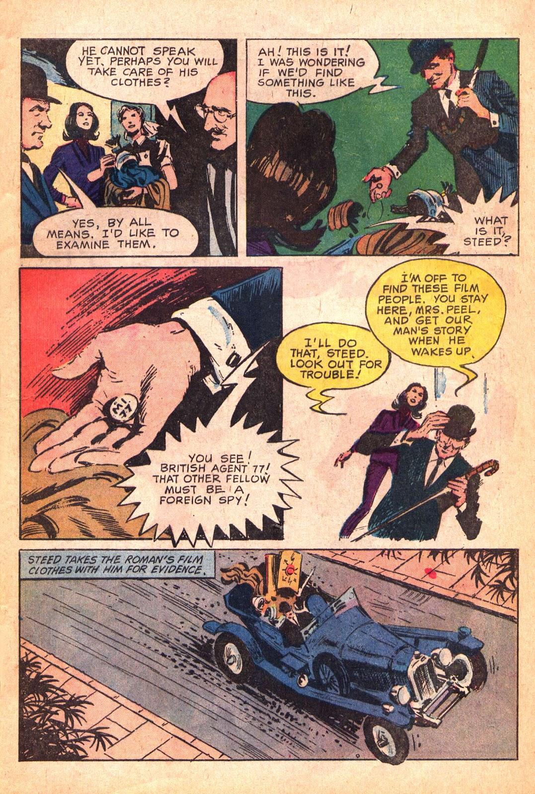 Read online The Avengers (1968) comic -  Issue # Full - 9