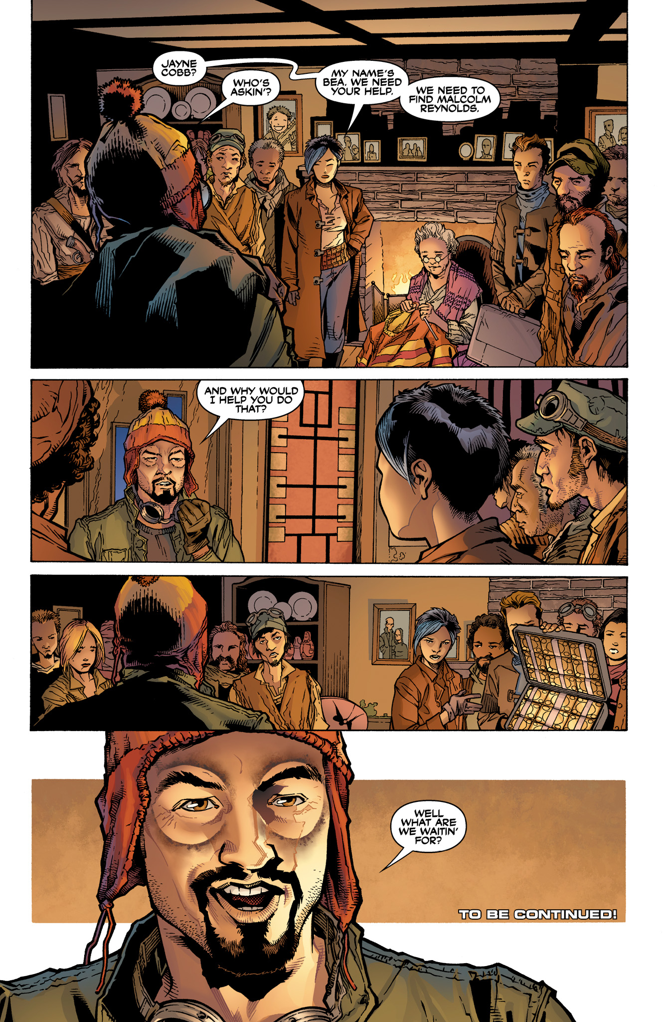 Read online Serenity: Firefly Class 03-K64  Leaves on the Wind comic -  Issue #1 - 25