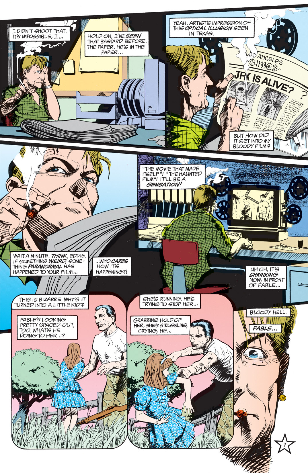 Read online Shade, the Changing Man comic -  Issue #5 - 9