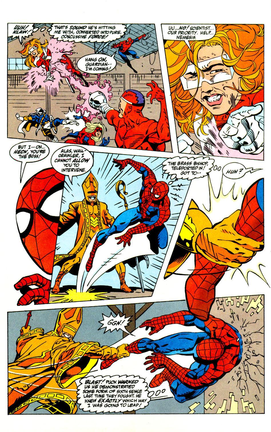 Read online Alpha Flight (1983) comic -  Issue #121 - 19