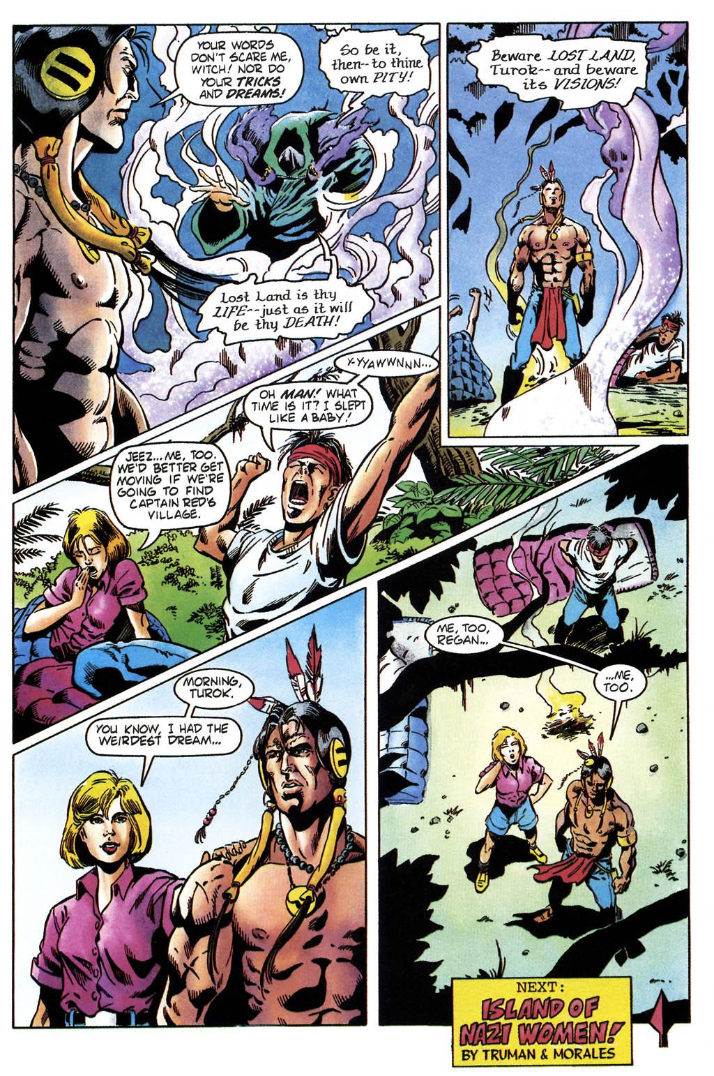 Read online Turok, Dinosaur Hunter (1993) comic -  Issue #36 - 22