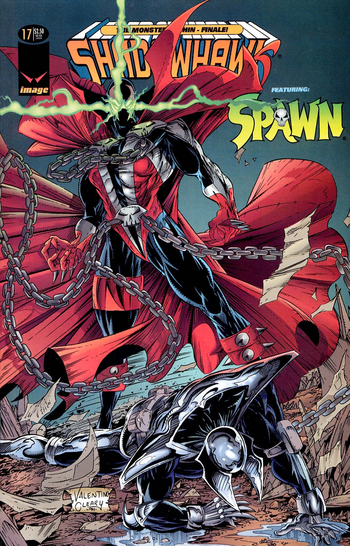 Read online ShadowHawk comic -  Issue #17 - 1