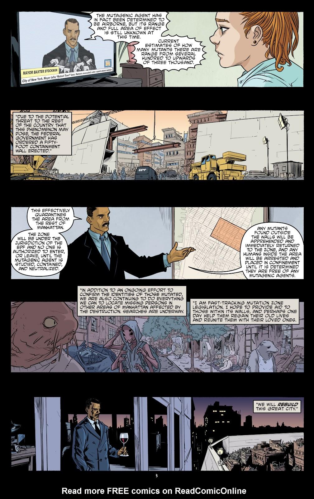 Read online Teenage Mutant Ninja Turtles (2011) comic -  Issue #101 - 5