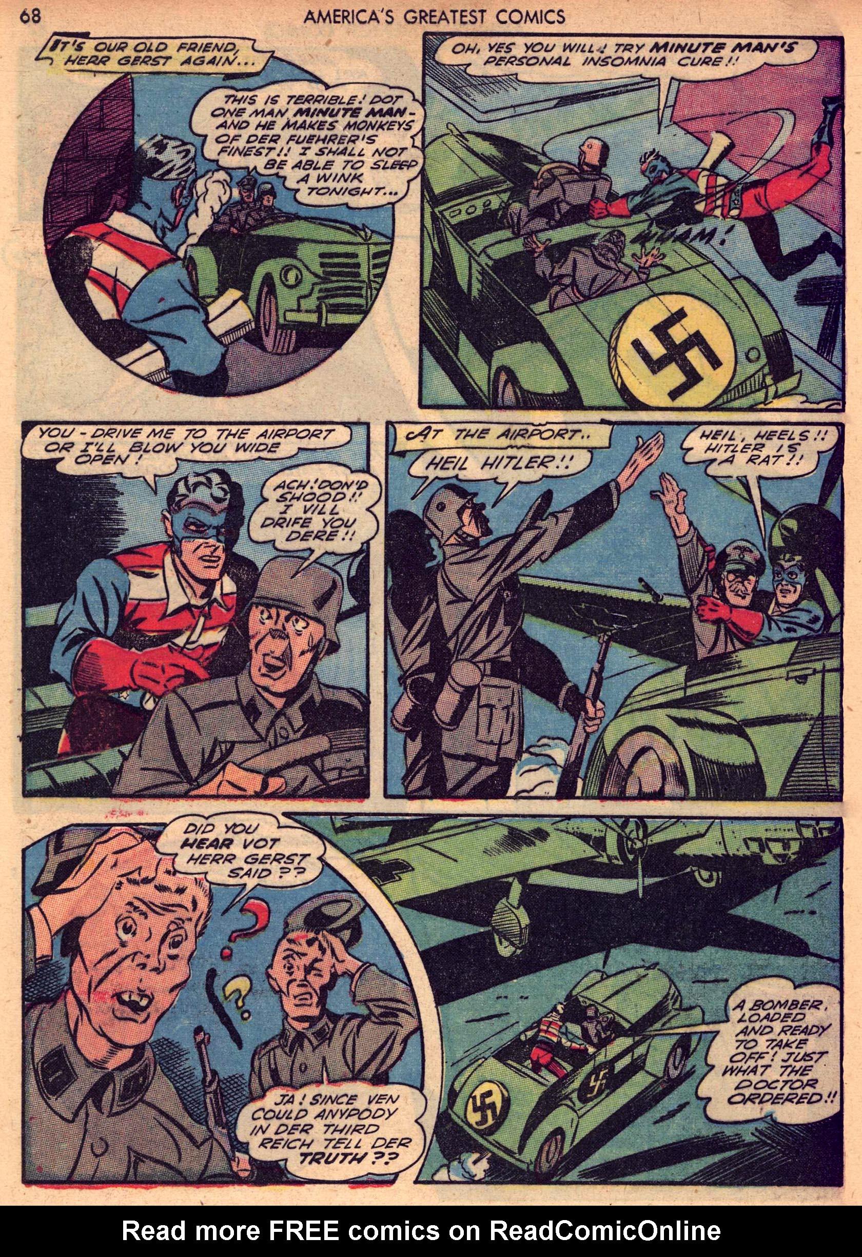 Read online America's Greatest Comics comic -  Issue #7 - 67