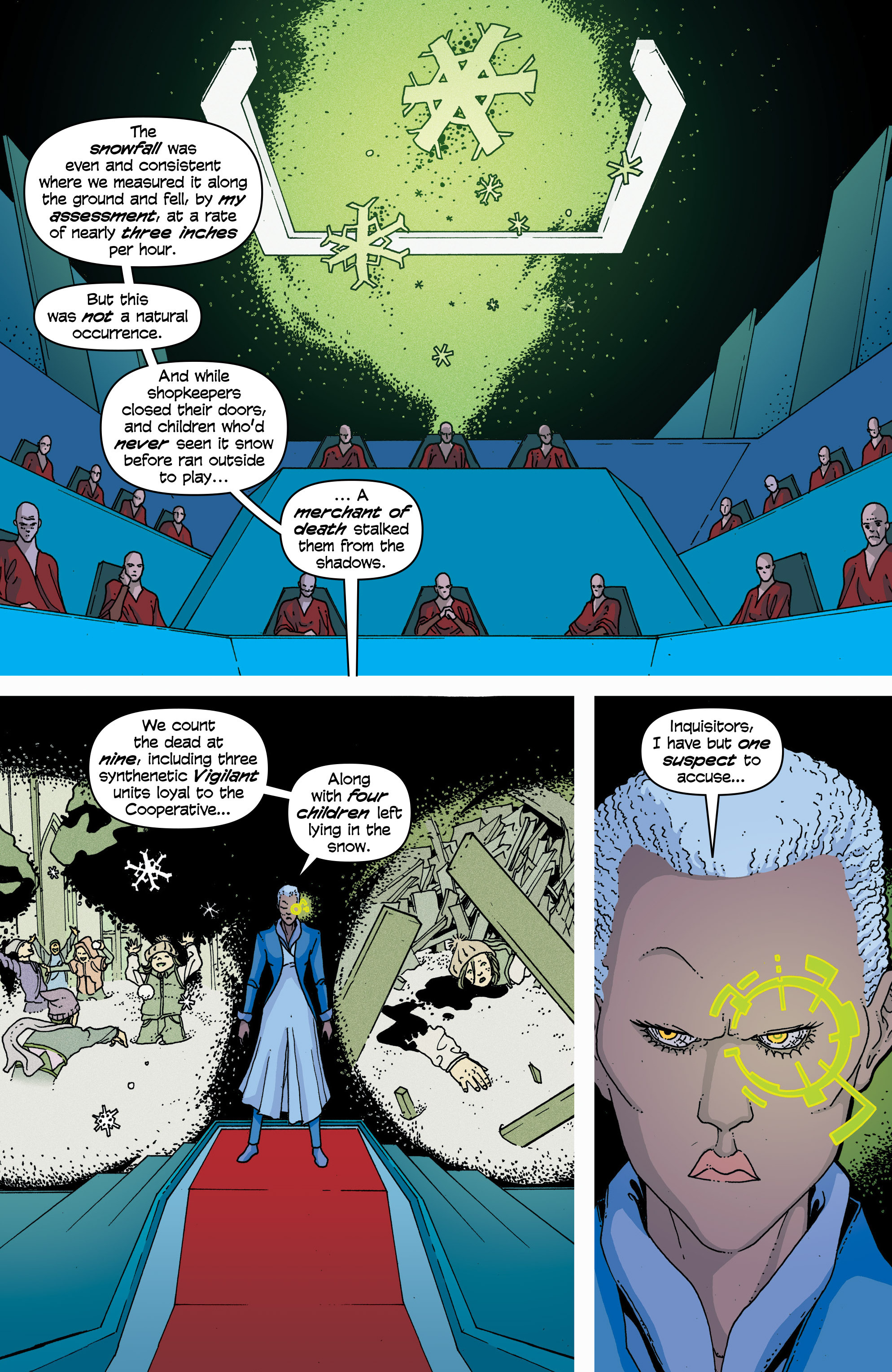 Read online Snowfall comic -  Issue #2 - 7