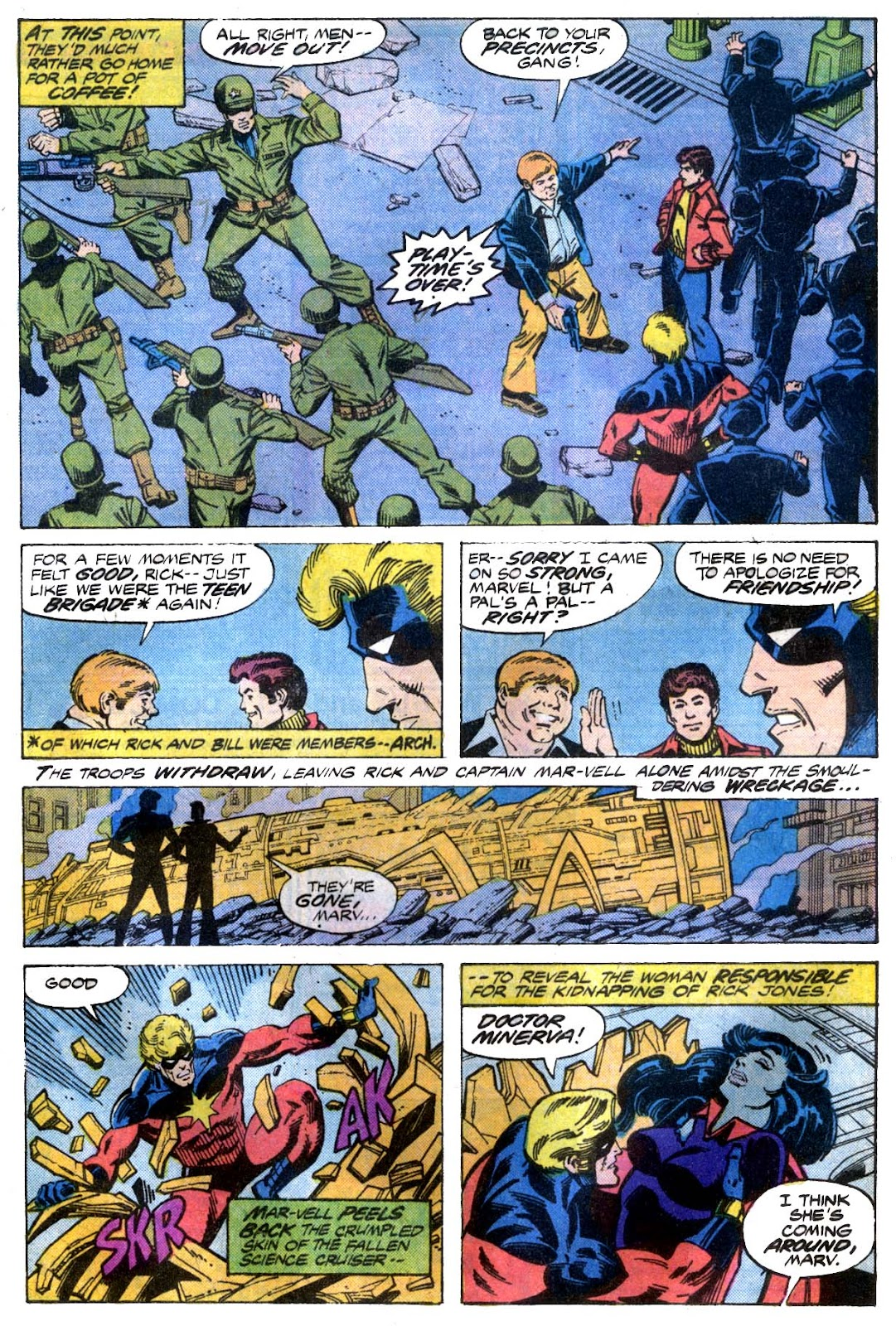 Captain Marvel (1968) issue 53 - Page 4