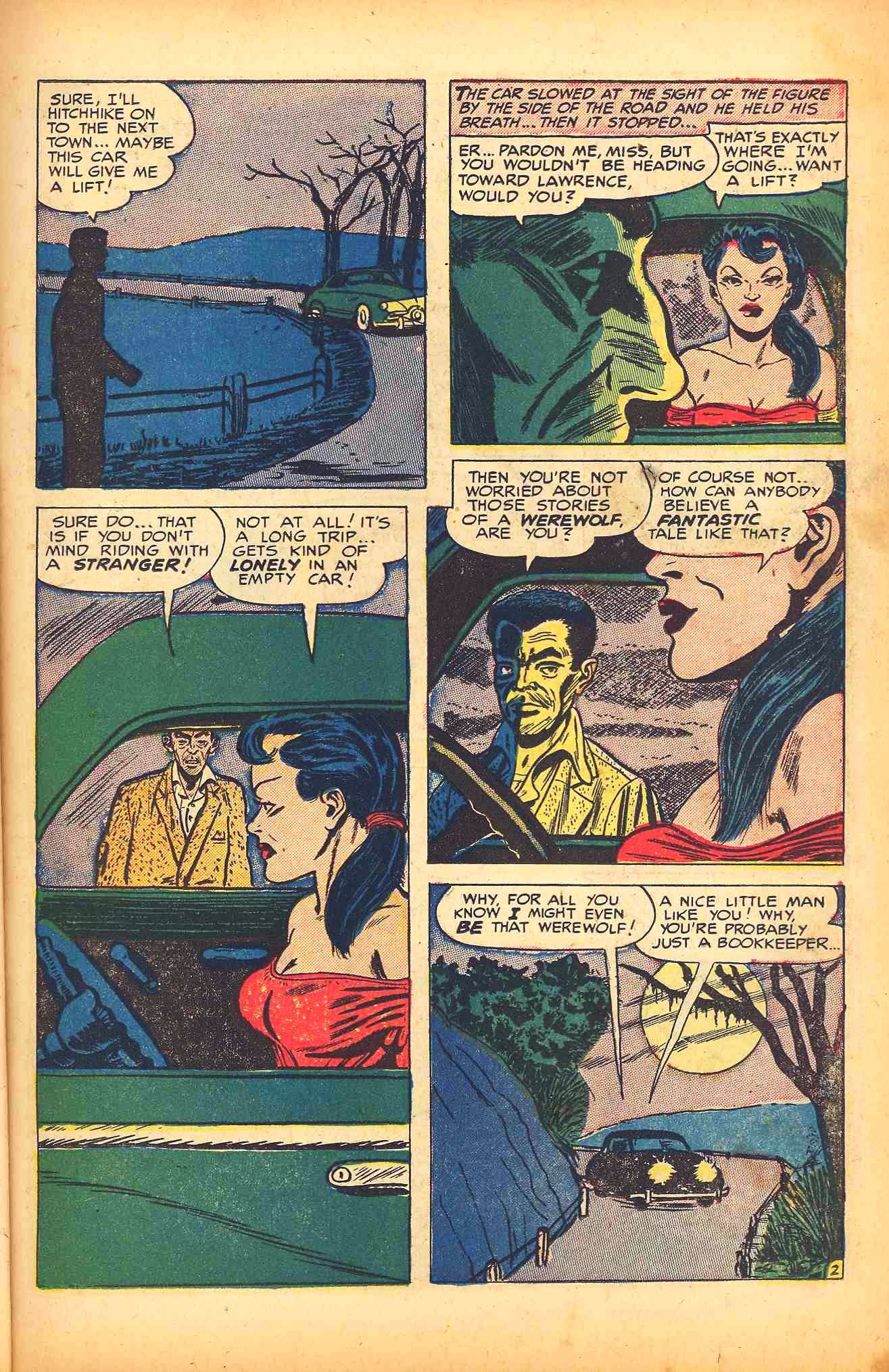 Weird Mysteries (1952) issue 6 - Page 11