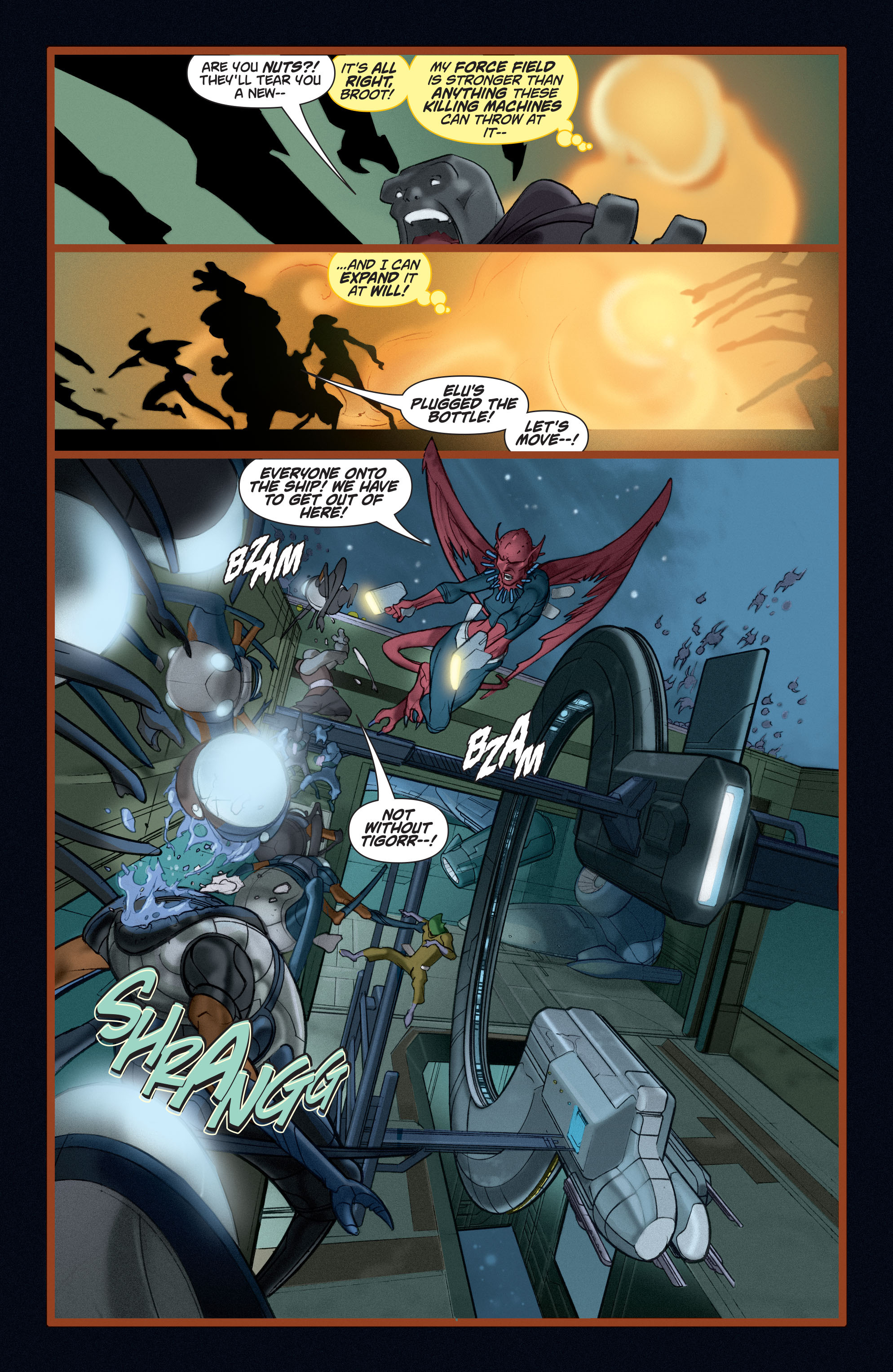 Read online Adam Strange (2004) comic -  Issue #5 - 10