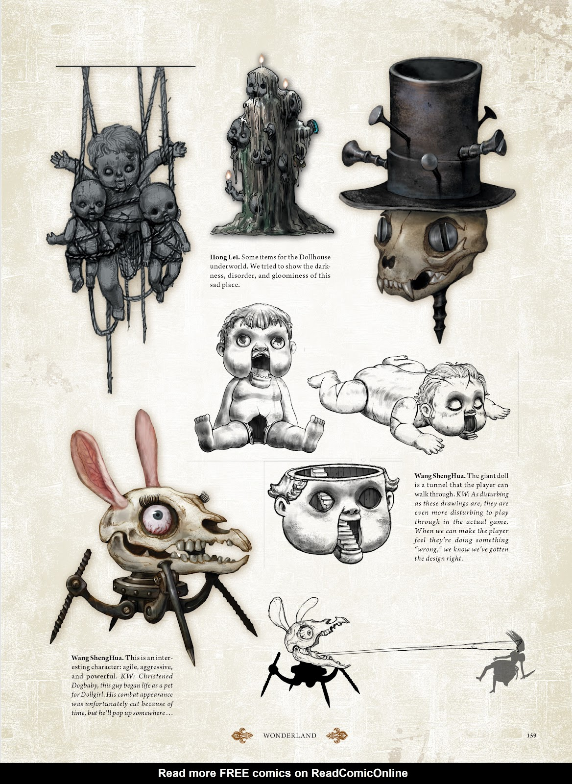 Read online The Art of Alice: Madness Returns comic -  Issue # TPB (Part 2) - 51