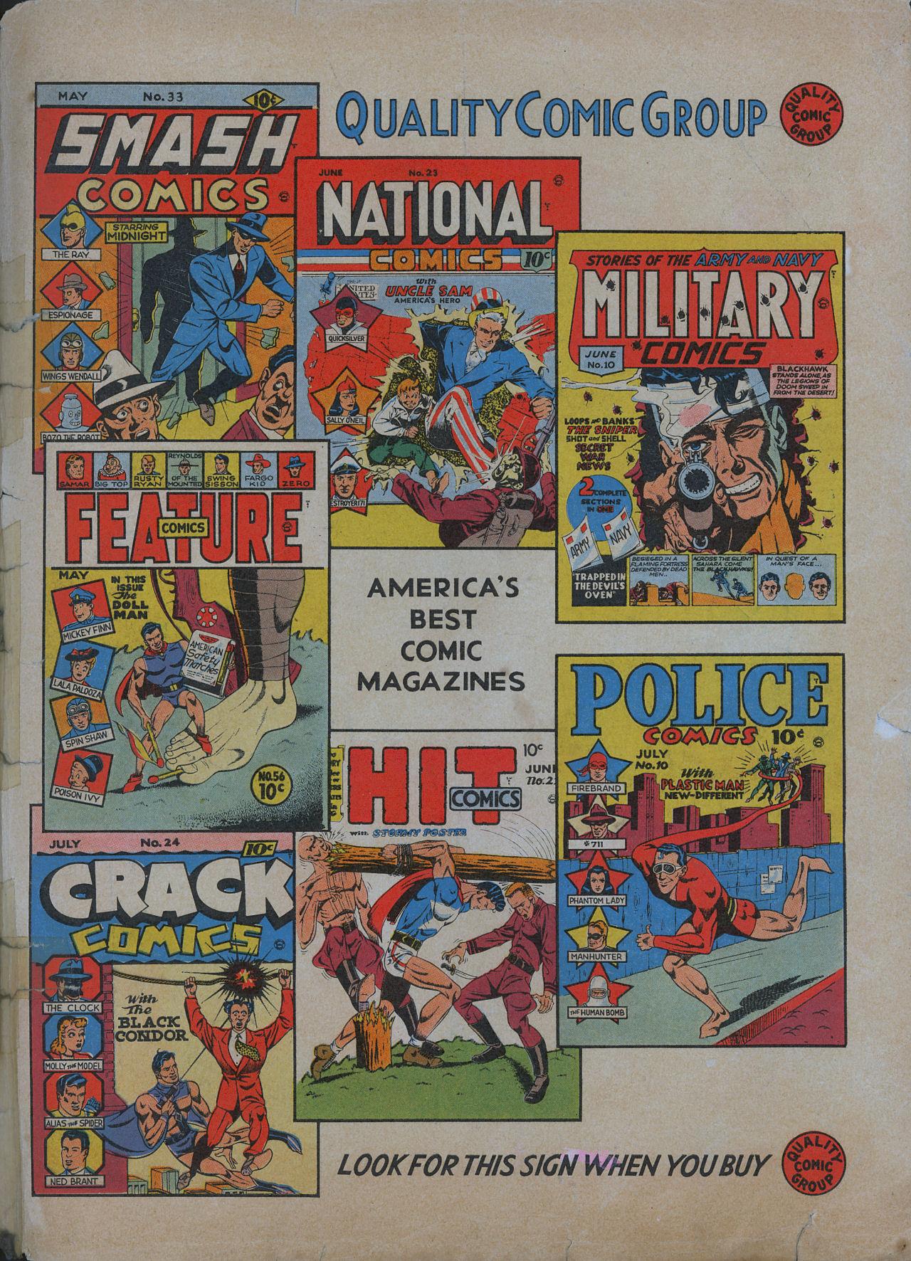 Read online Hit Comics comic -  Issue #22 - 67