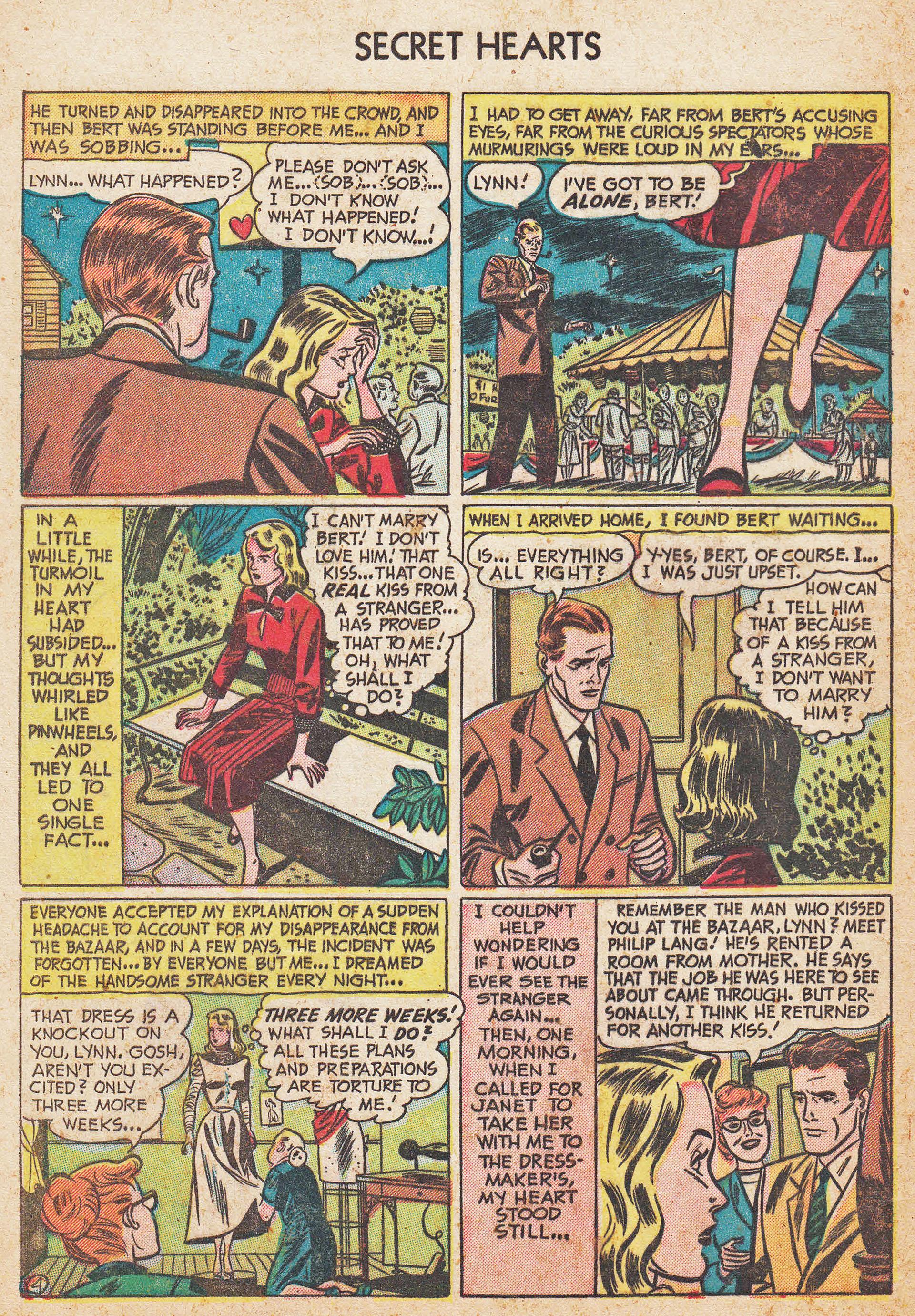 Read online Secret Hearts comic -  Issue #7 - 30