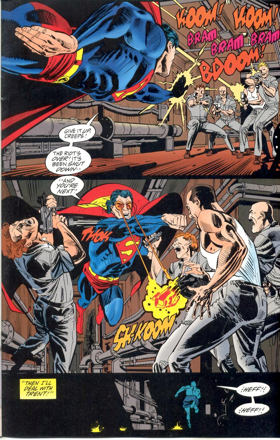 Read online Adventures of Superman (1987) comic -  Issue #526 - 17