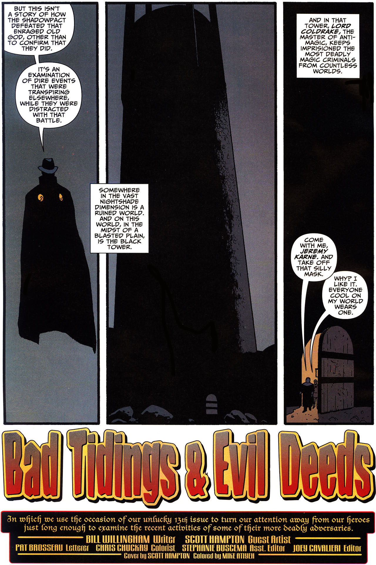 Read online Shadowpact comic -  Issue #13 - 3