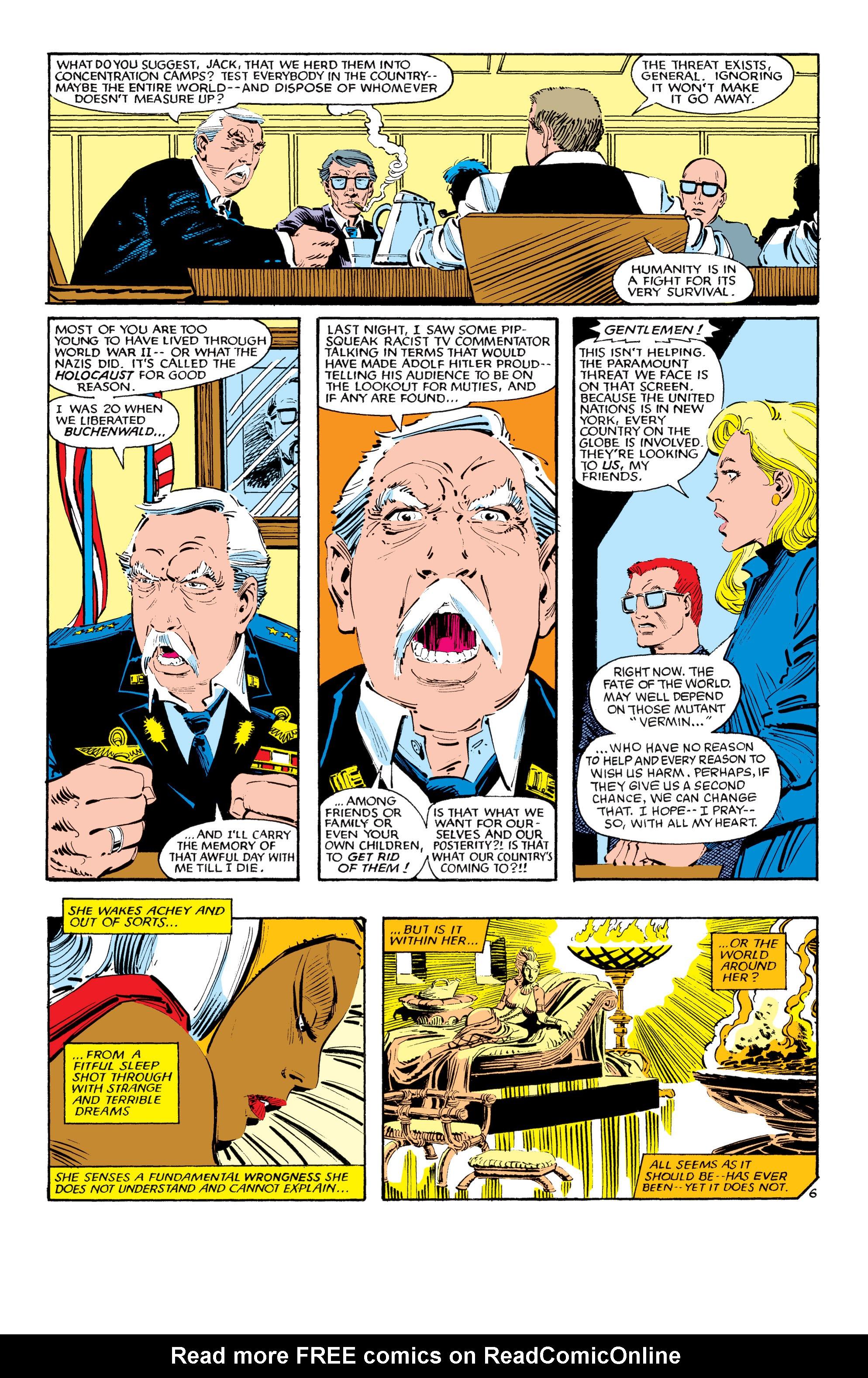 Read online Uncanny X-Men (1963) comic -  Issue #190 - 6