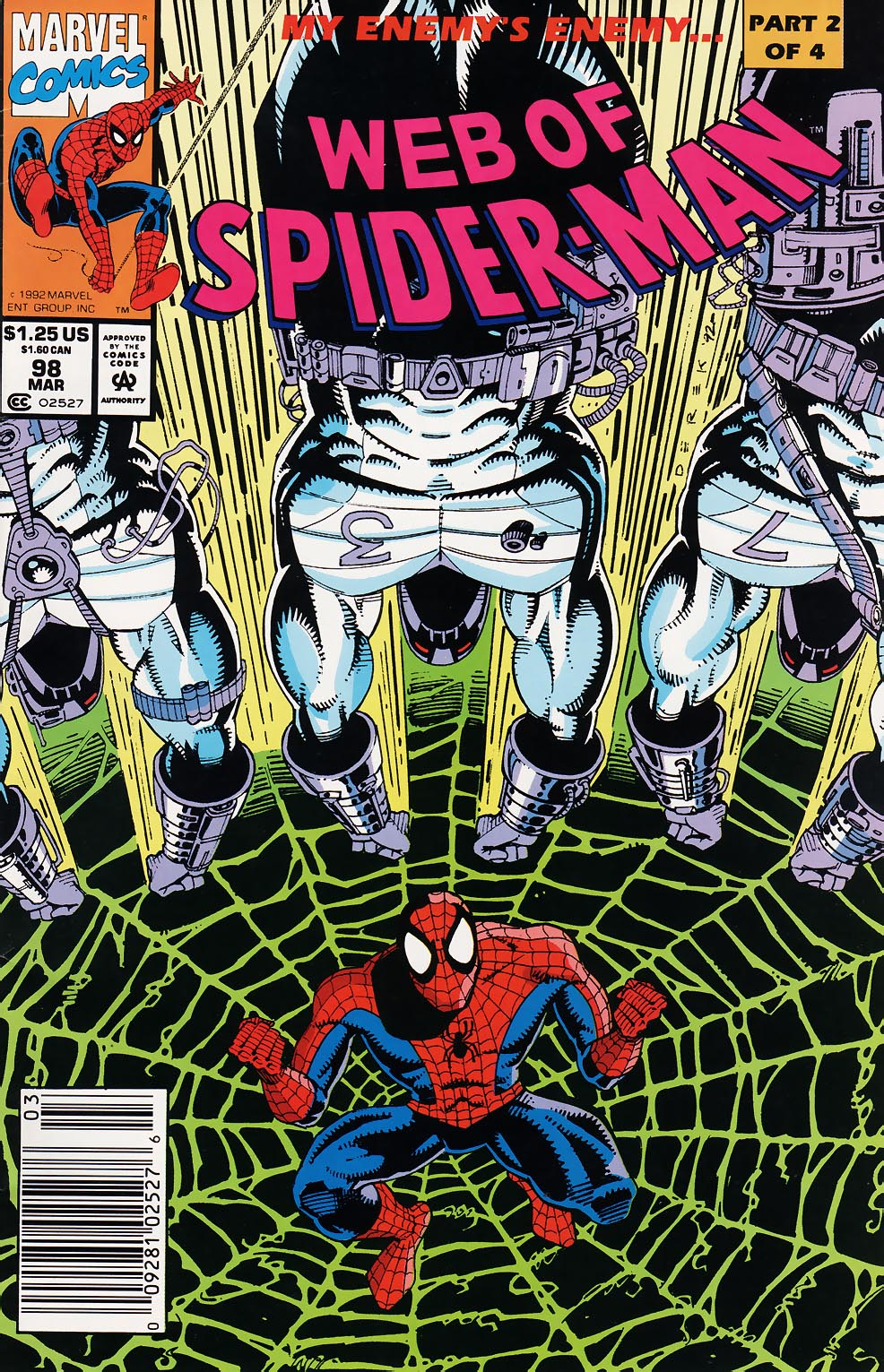 Web of Spider-Man (1985) 98 Page 1