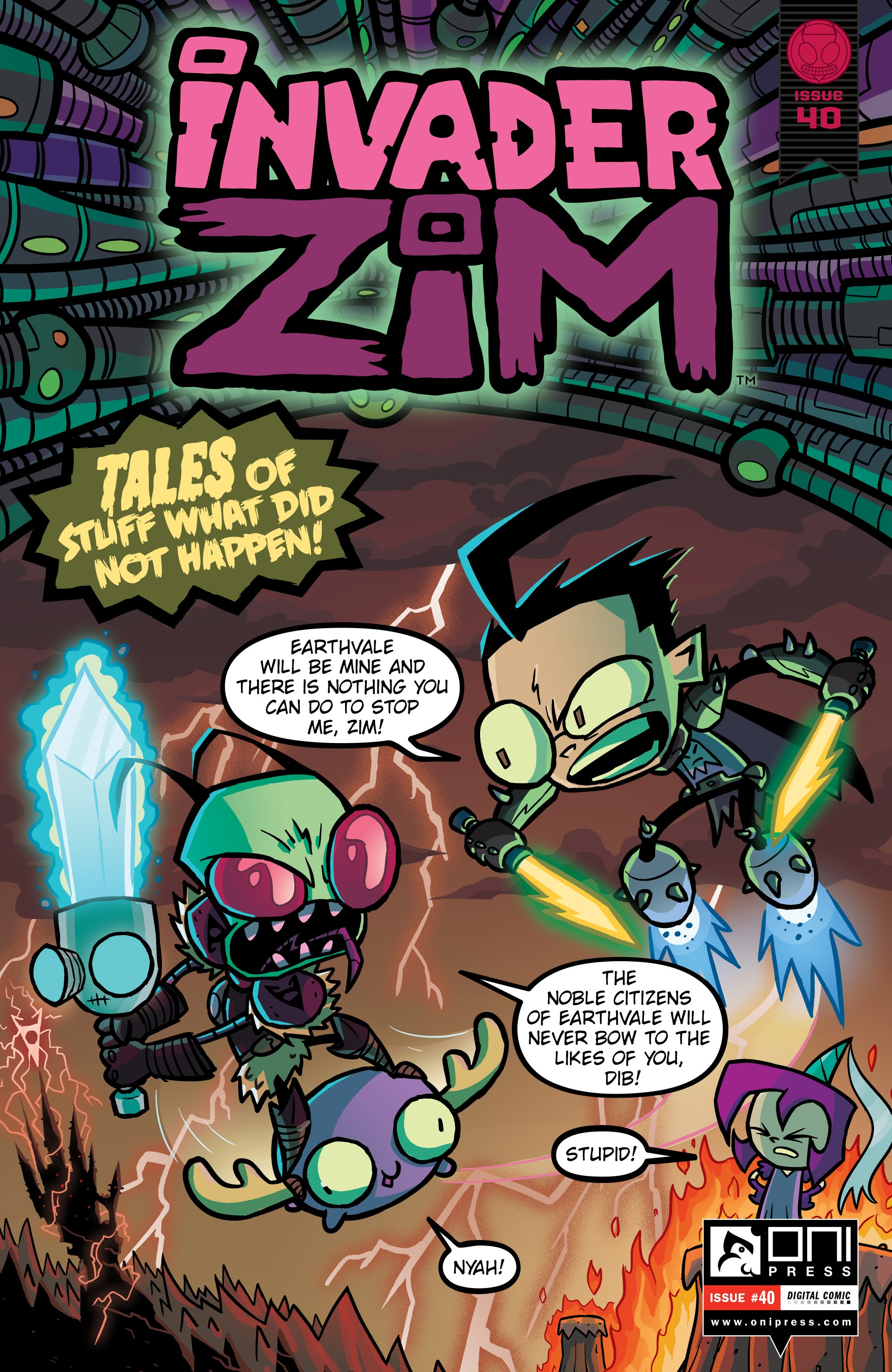 Invader Zim 40 Page 1