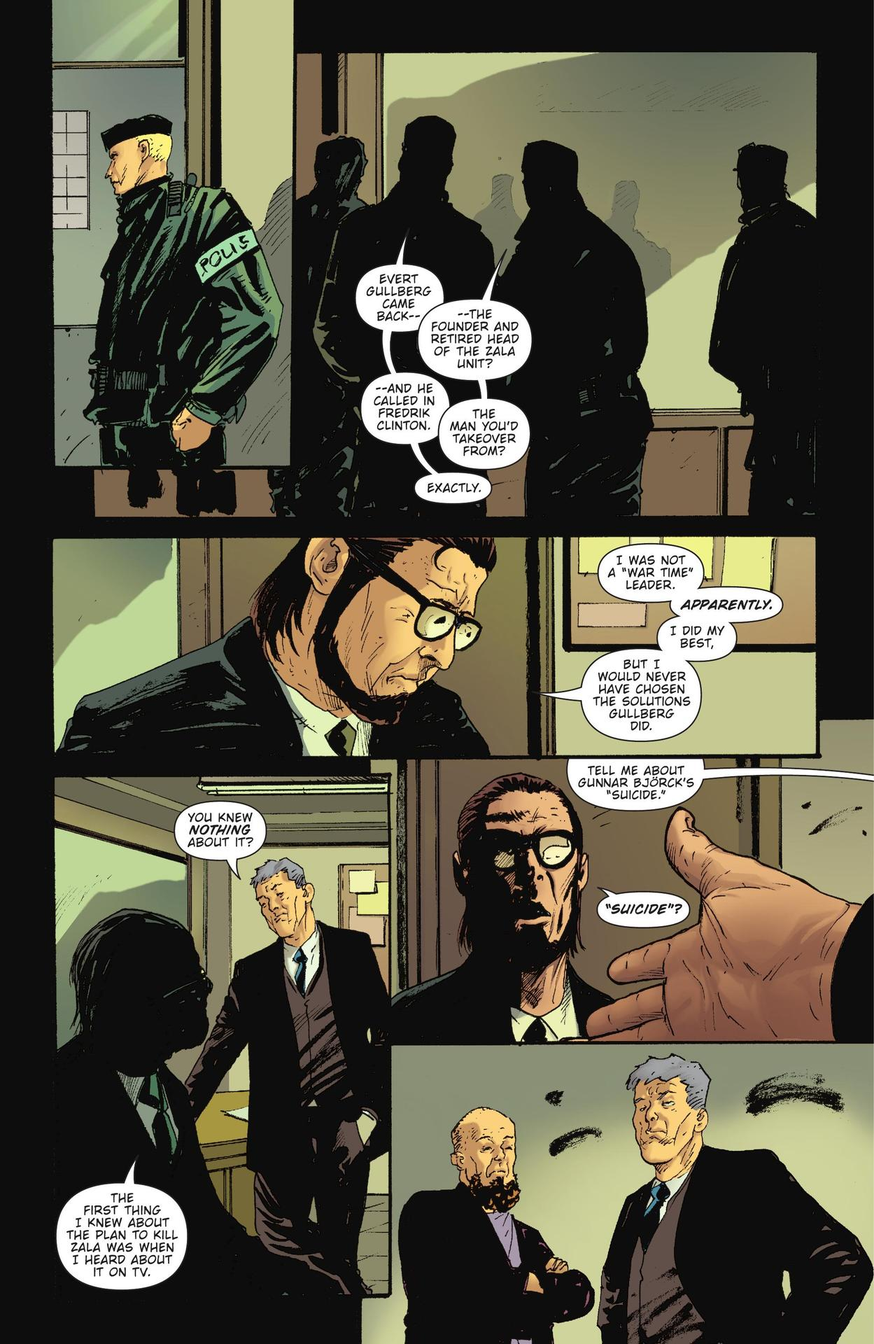 Read online The Girl Who Kicked The Hornet's Nest comic -  Issue # TPB - 231