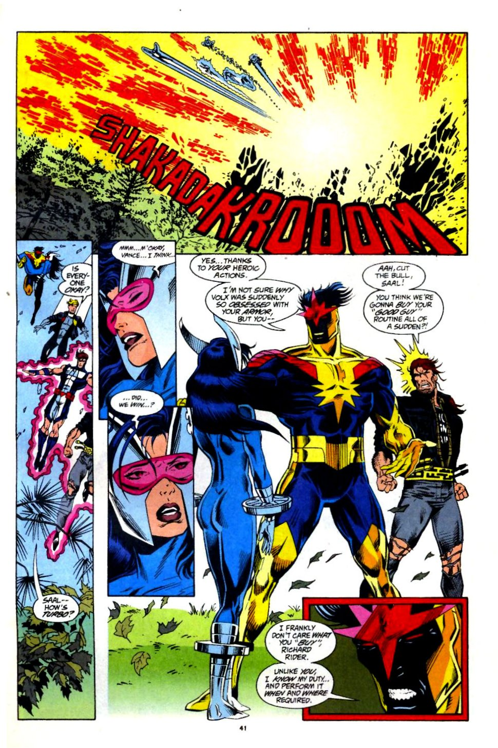 The New Warriors Issue #60 #64 - English 32