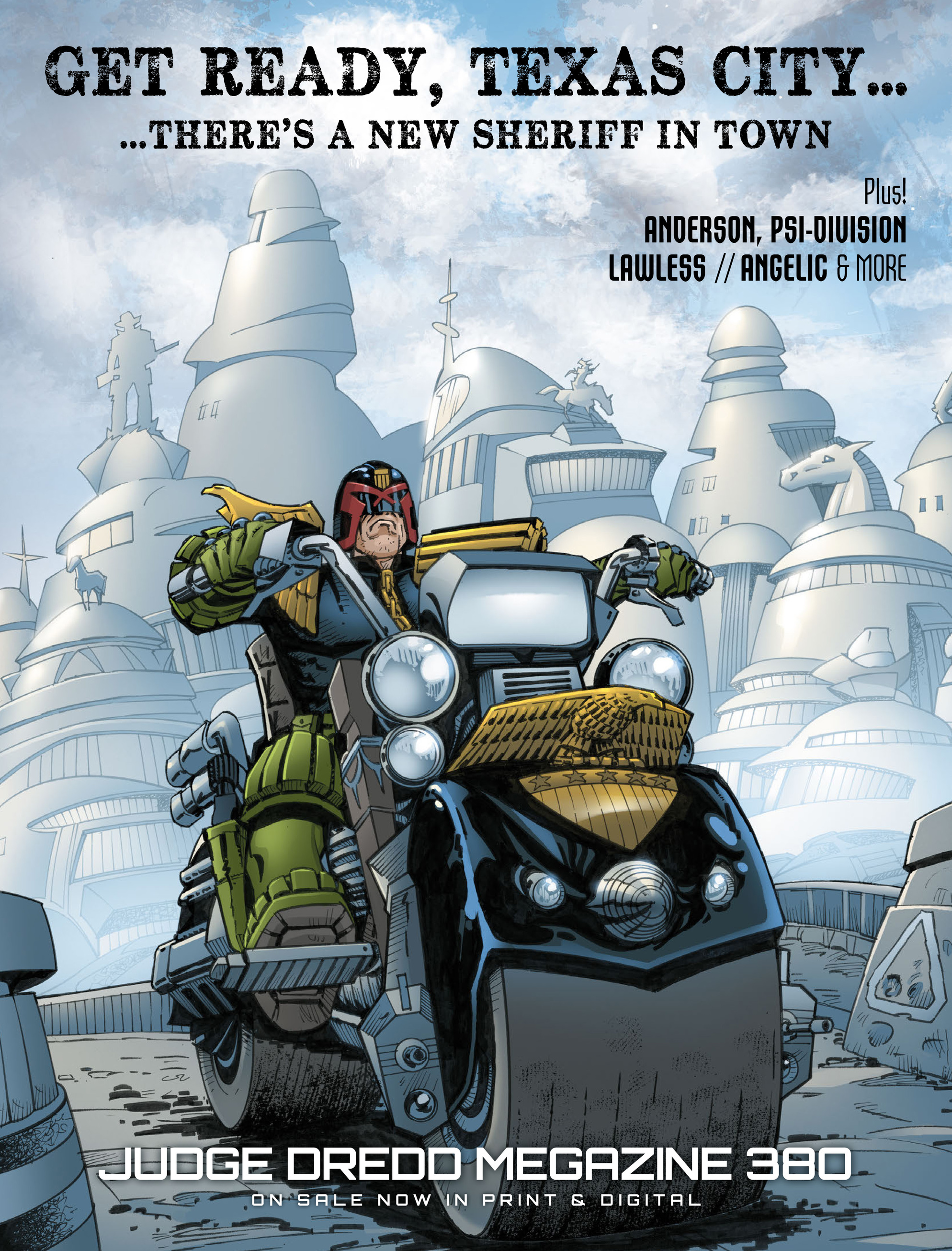 Read online 2000 AD comic -  Issue #2015 - 9