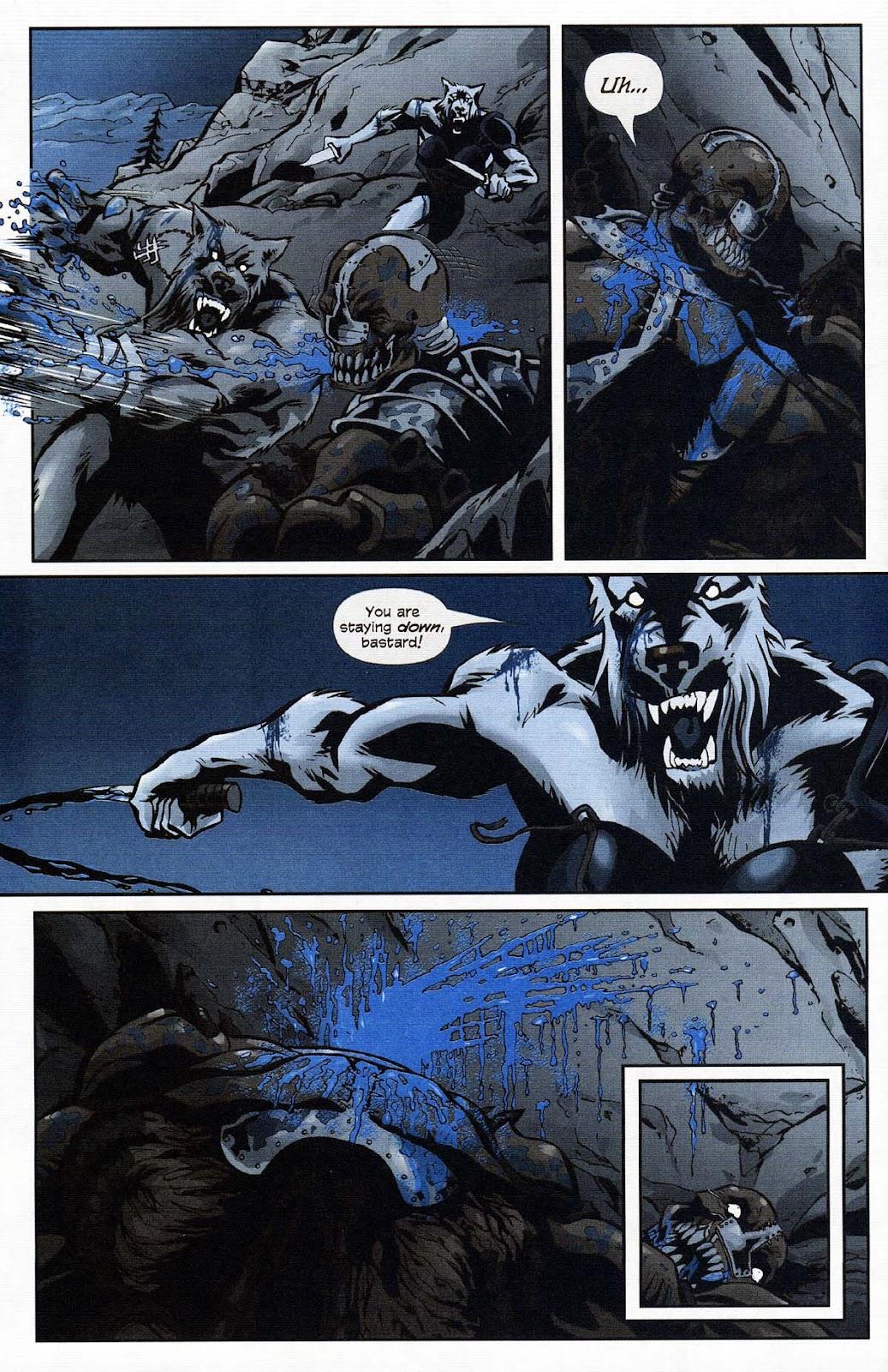 Read online Werewolf the Apocalypse comic -  Issue # Get of Fenris - 36