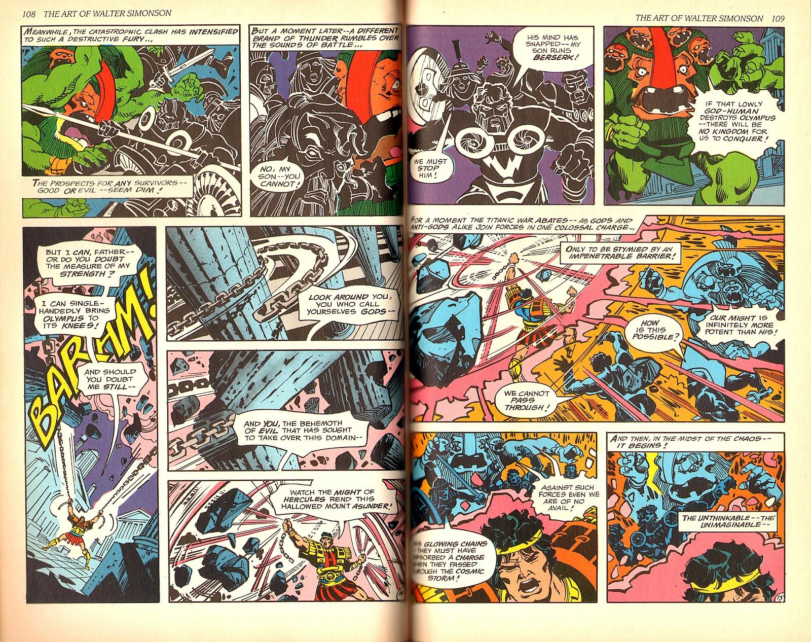 Read online The Art of Walter Simonson comic -  Issue # TPB - 56