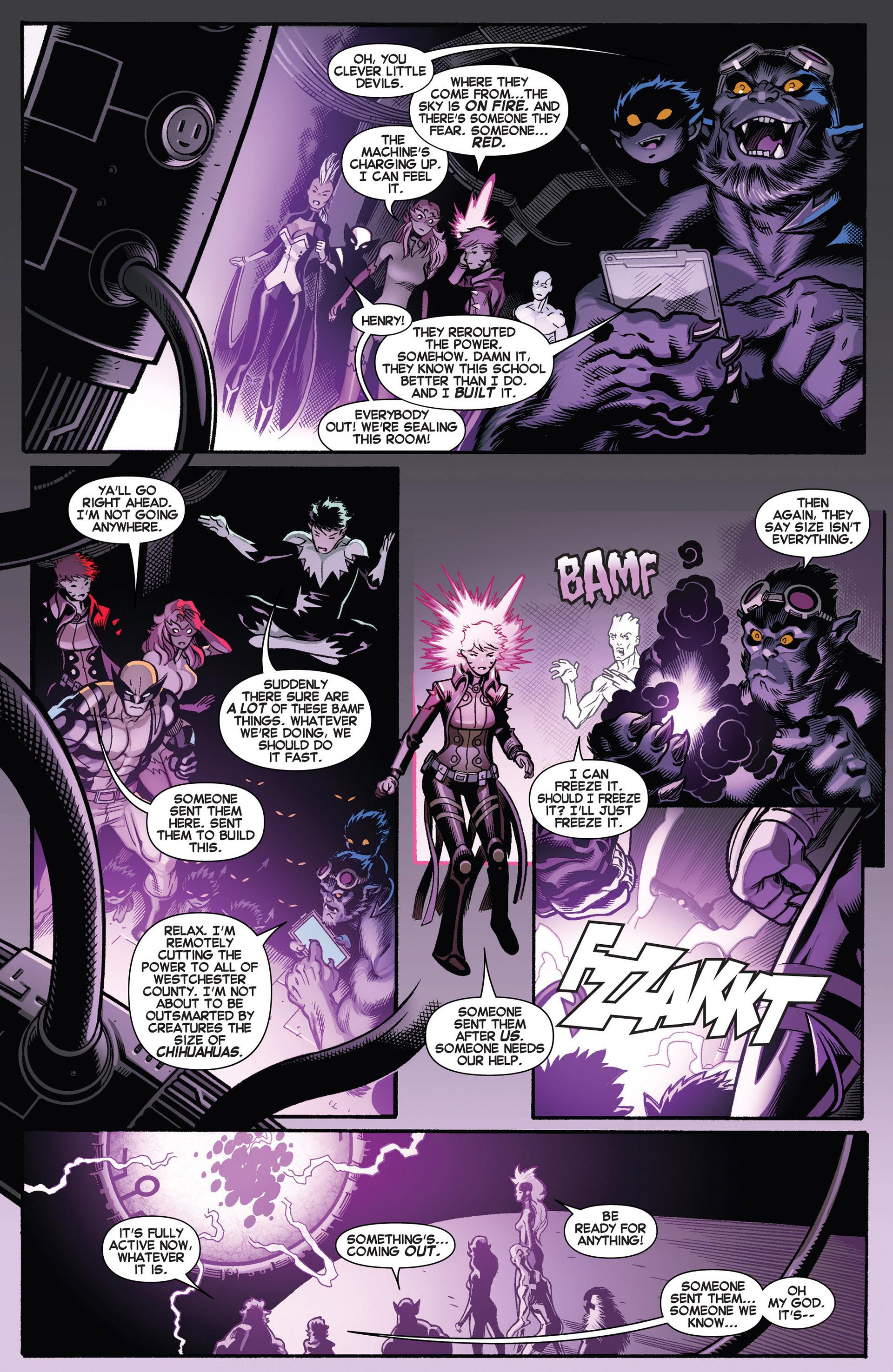 Read online Amazing X-Men (2014) comic -  Issue #1 - 21