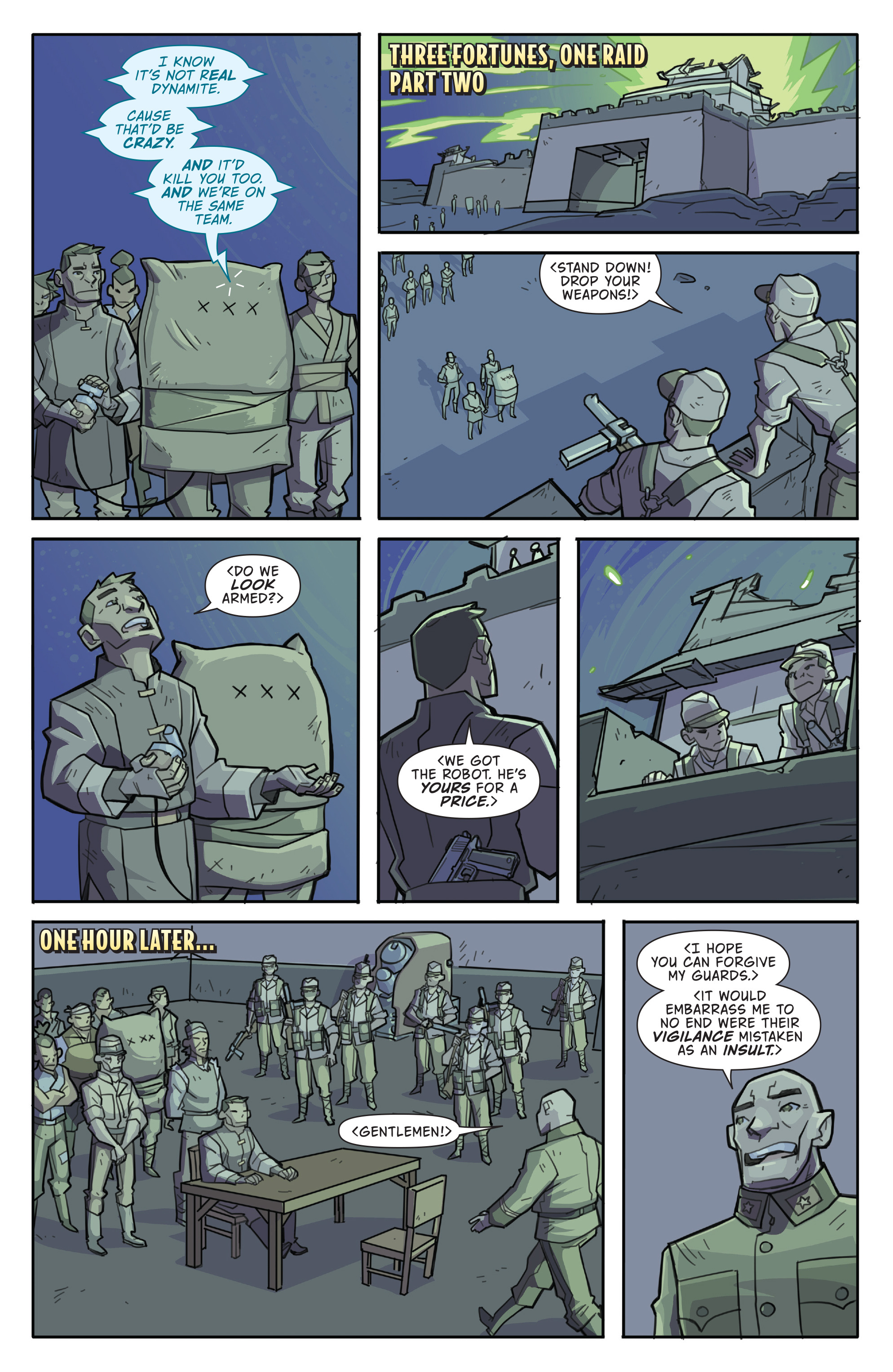 Read online Atomic Robo and the Temple of Od comic -  Issue #4 - 13